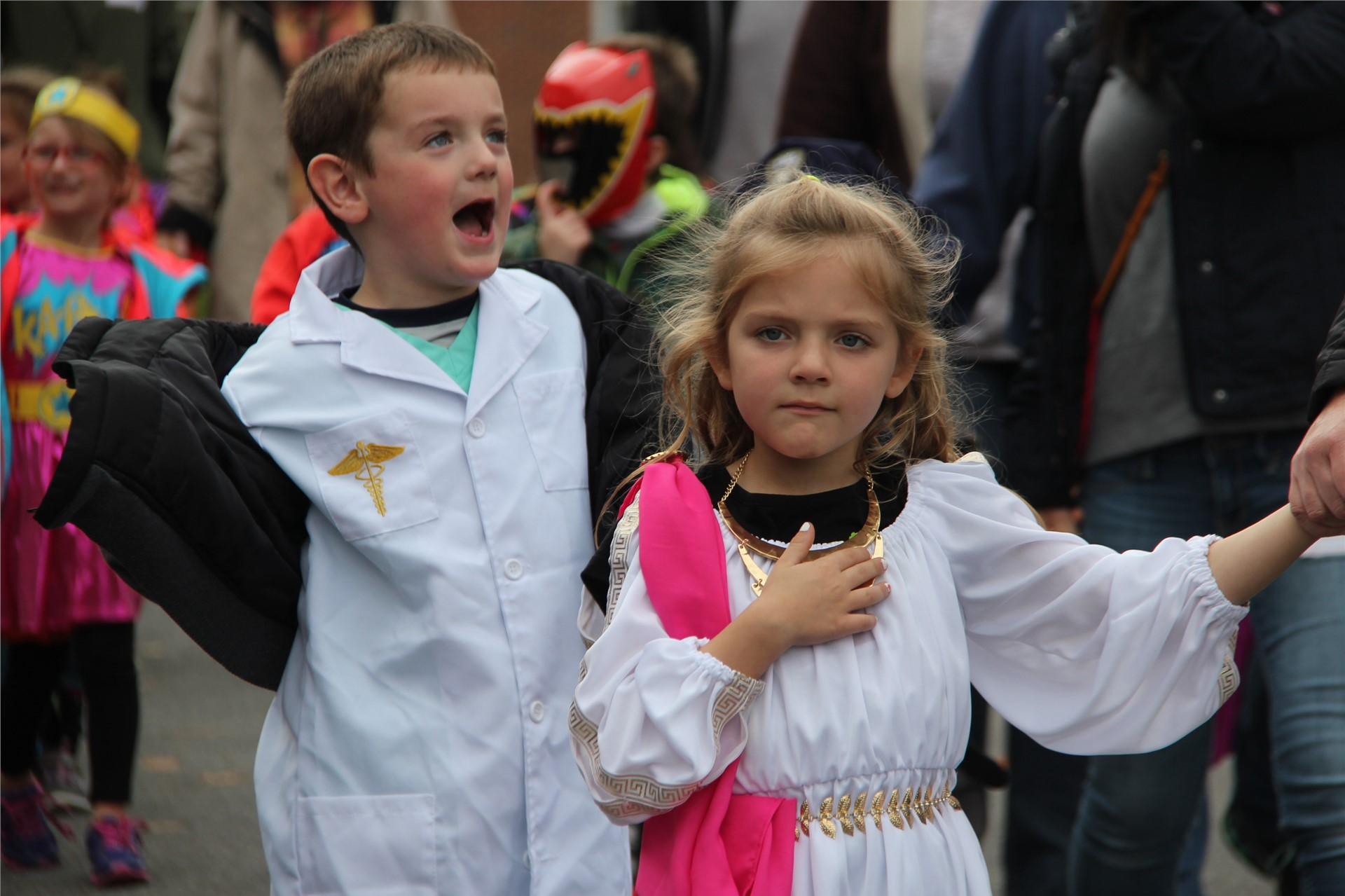 Port Dickinson Elementary Halloween Parade 22