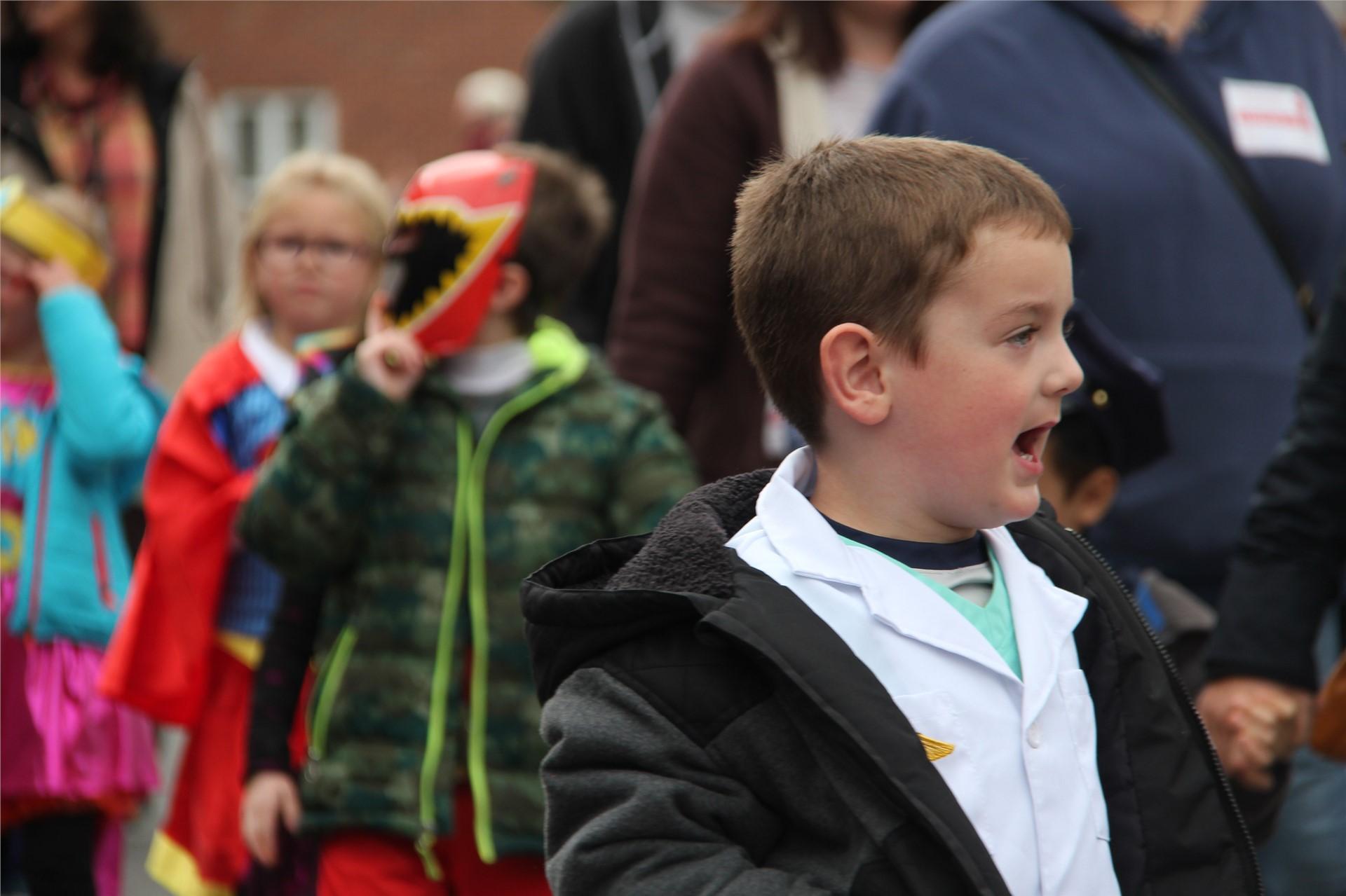 Port Dickinson Elementary Halloween Parade 23