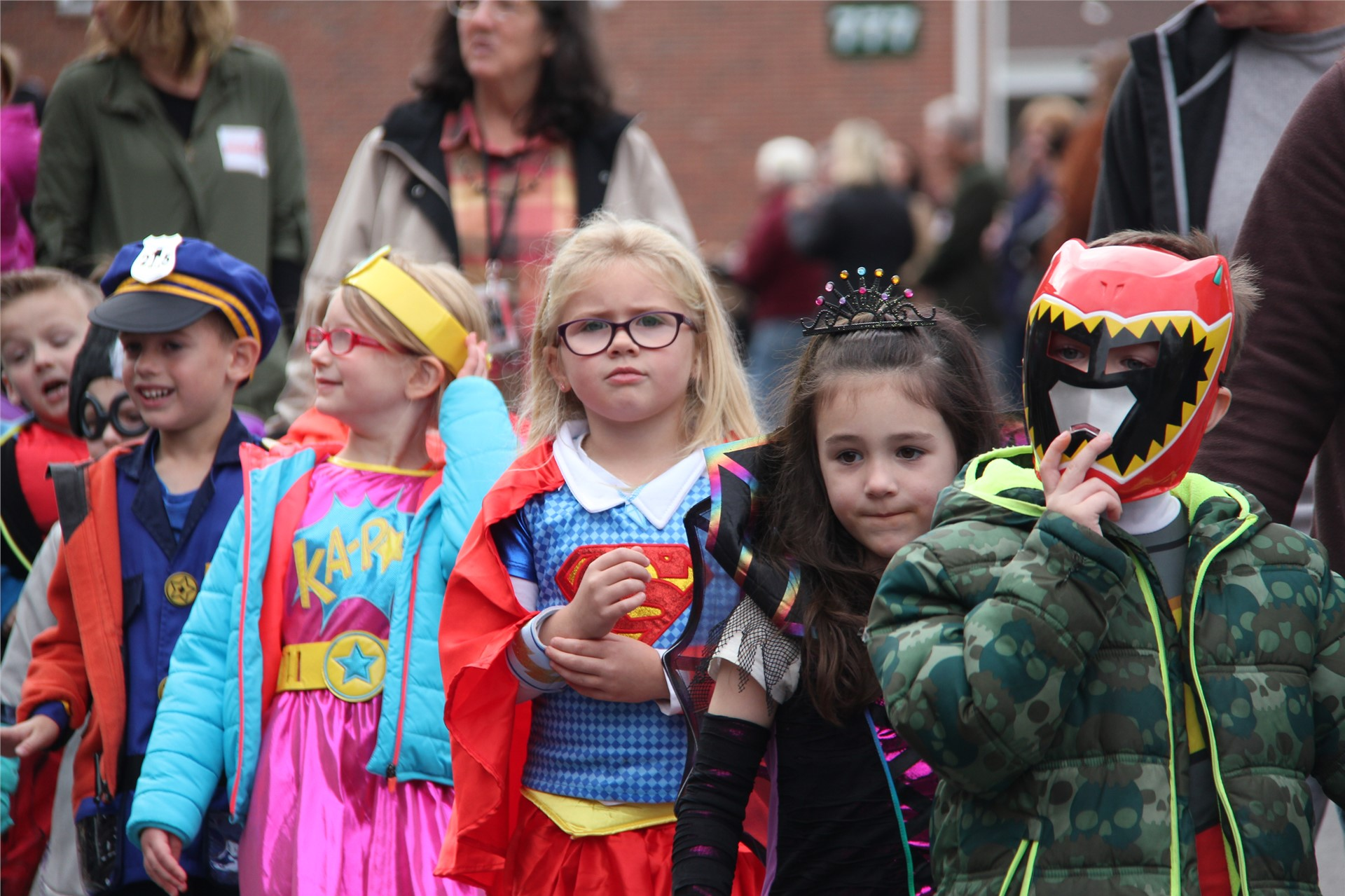 Port Dickinson Elementary Halloween Parade 24