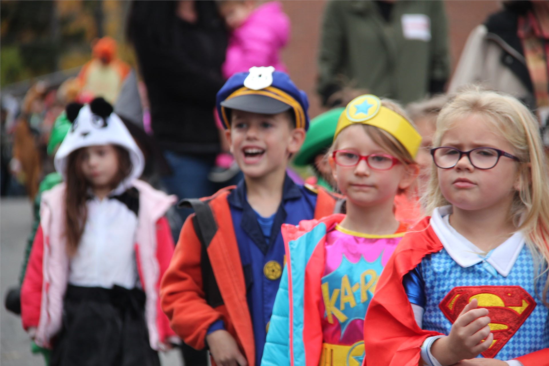 Port Dickinson Elementary Halloween Parade 25