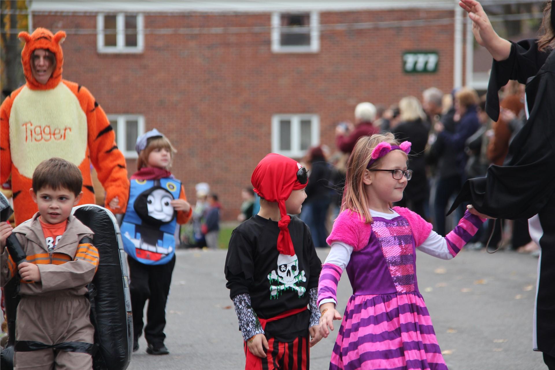 Port Dickinson Elementary Halloween Parade 32