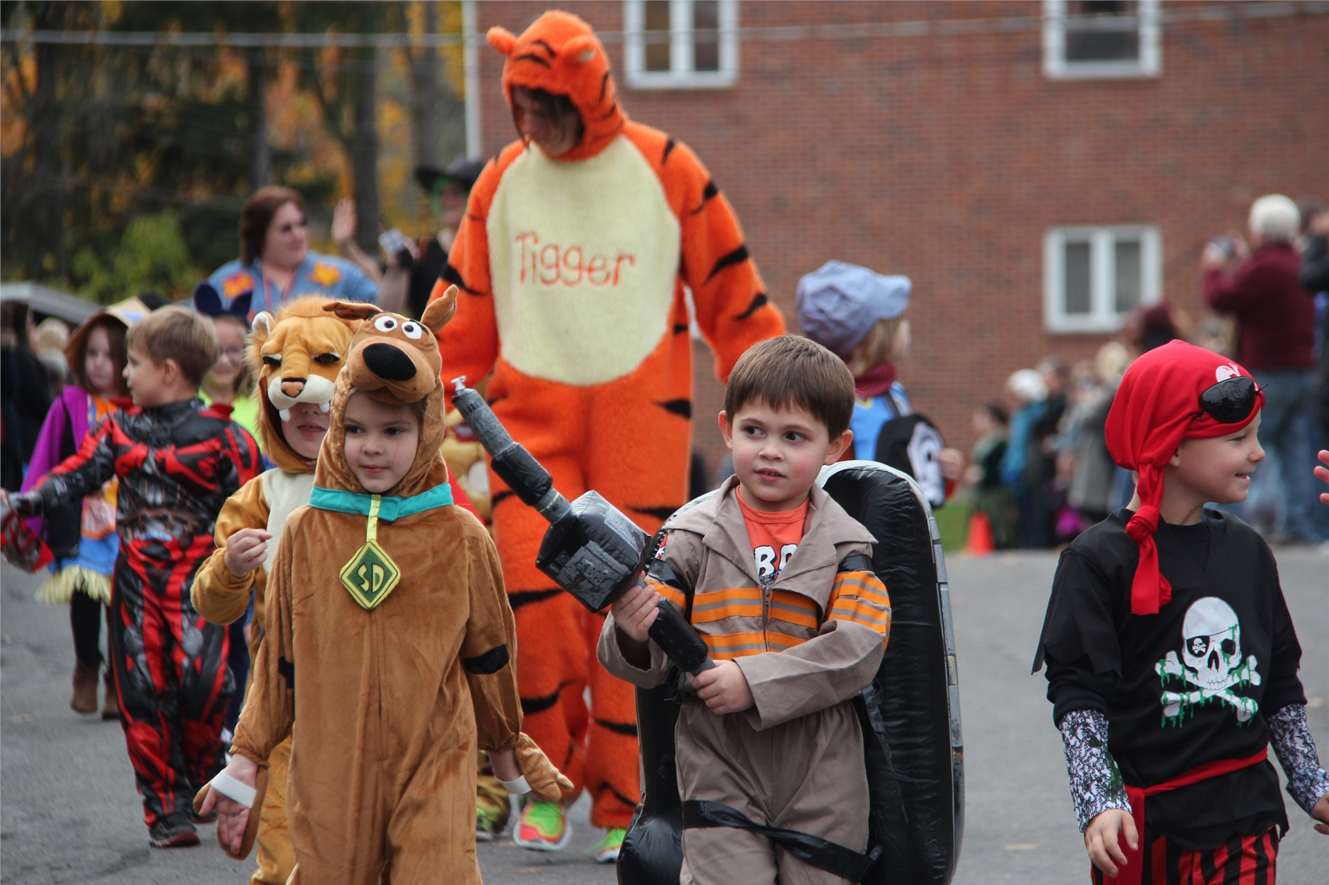 Port Dickinson Elementary Halloween Parade 33