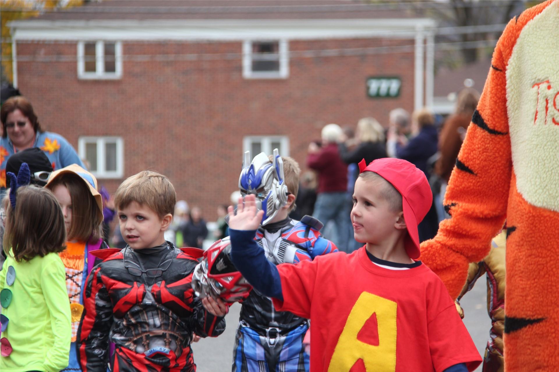 Port Dickinson Elementary Halloween Parade 35