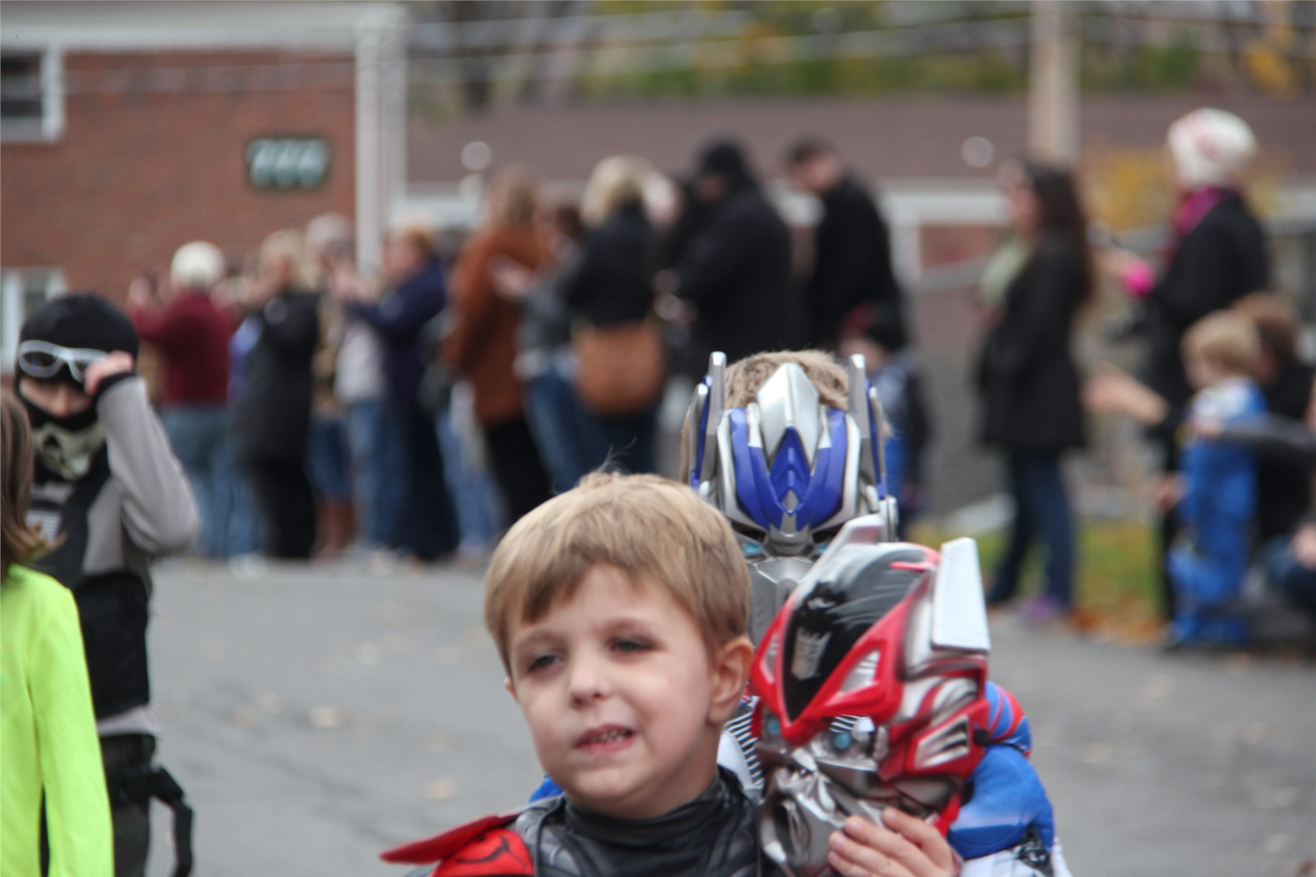 Port Dickinson Elementary Halloween Parade 37