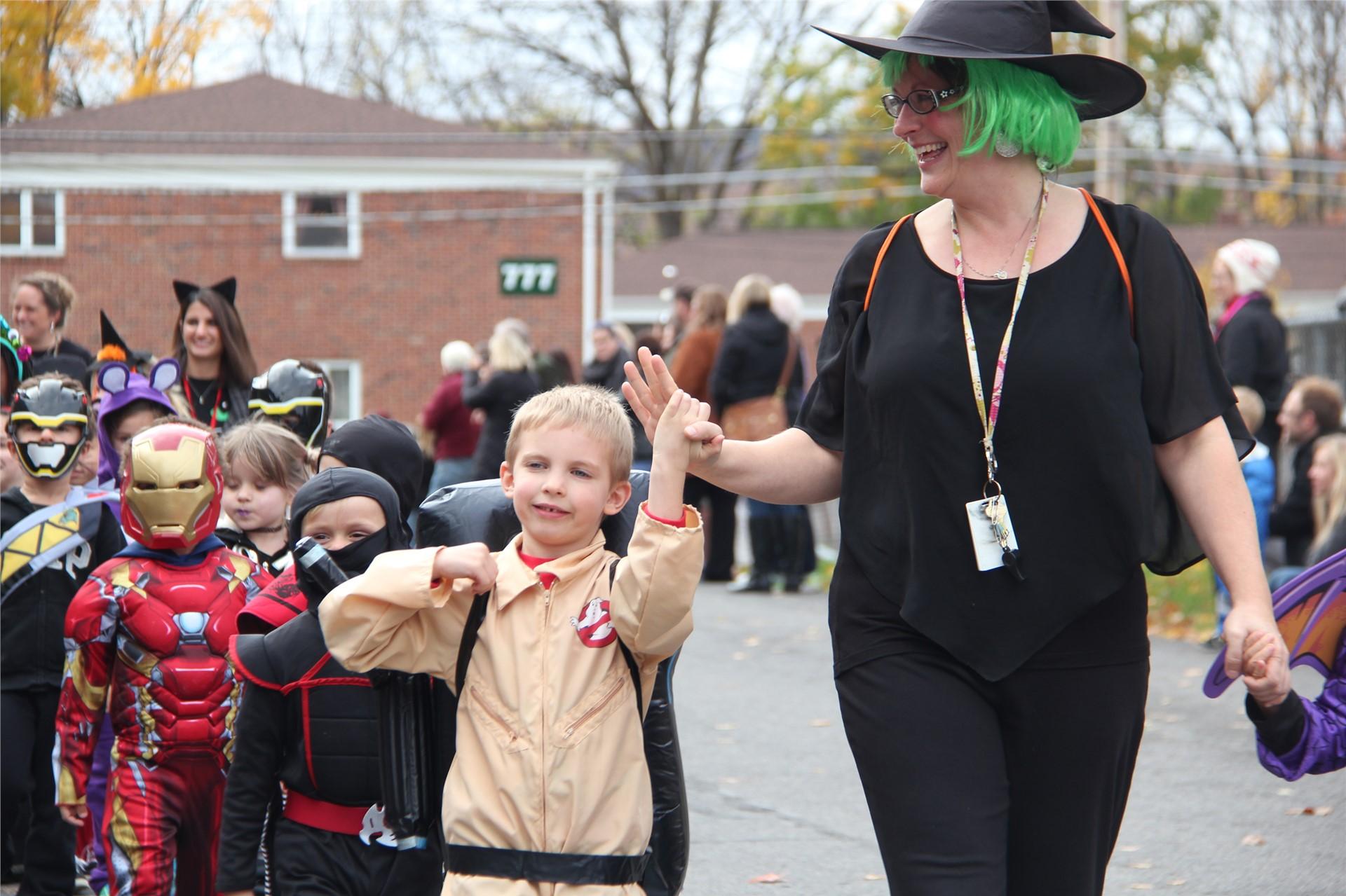 Port Dickinson Elementary Halloween Parade 43