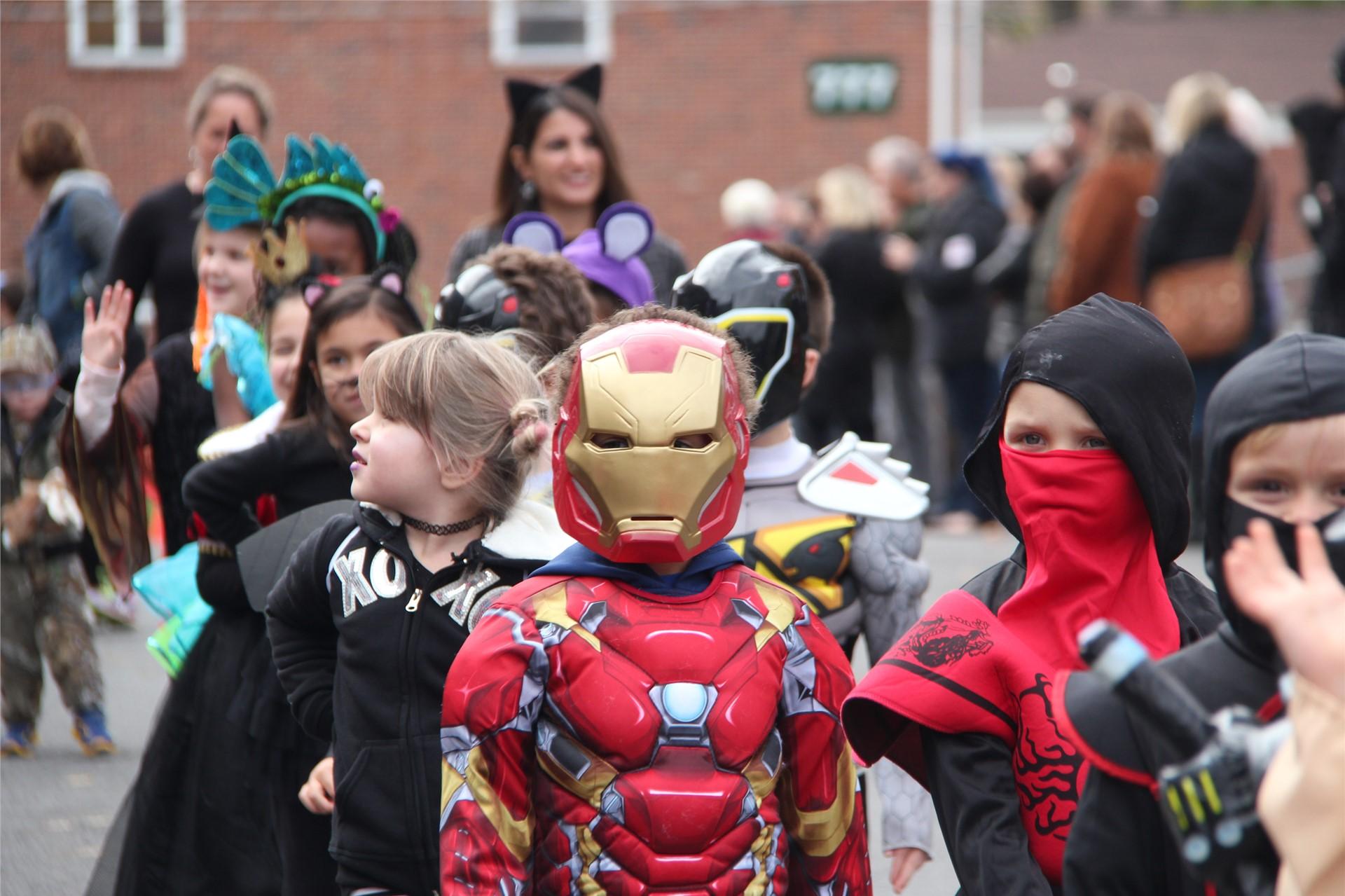 Port Dickinson Elementary Halloween Parade 44