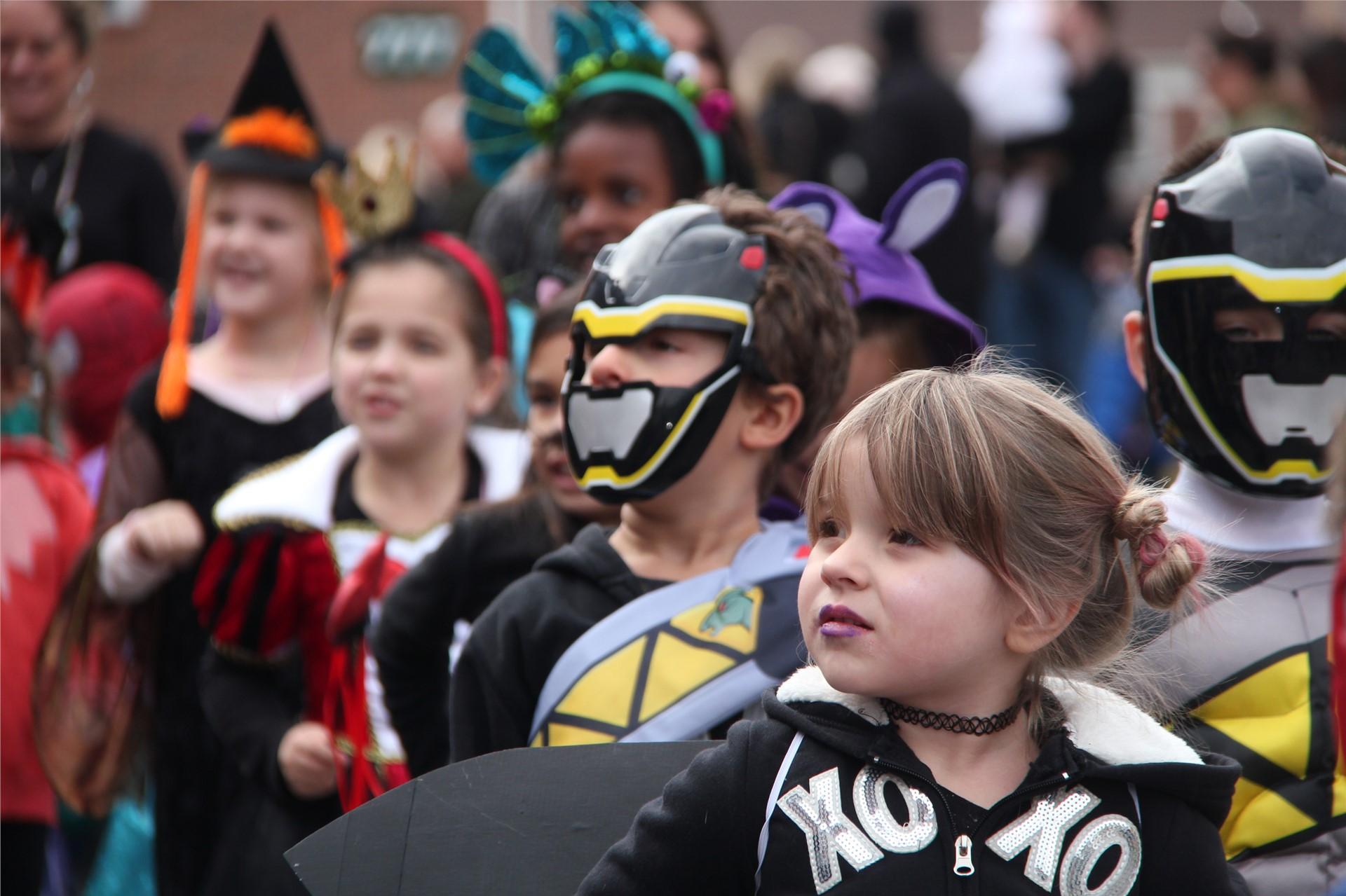 Port Dickinson Elementary Halloween Parade 46