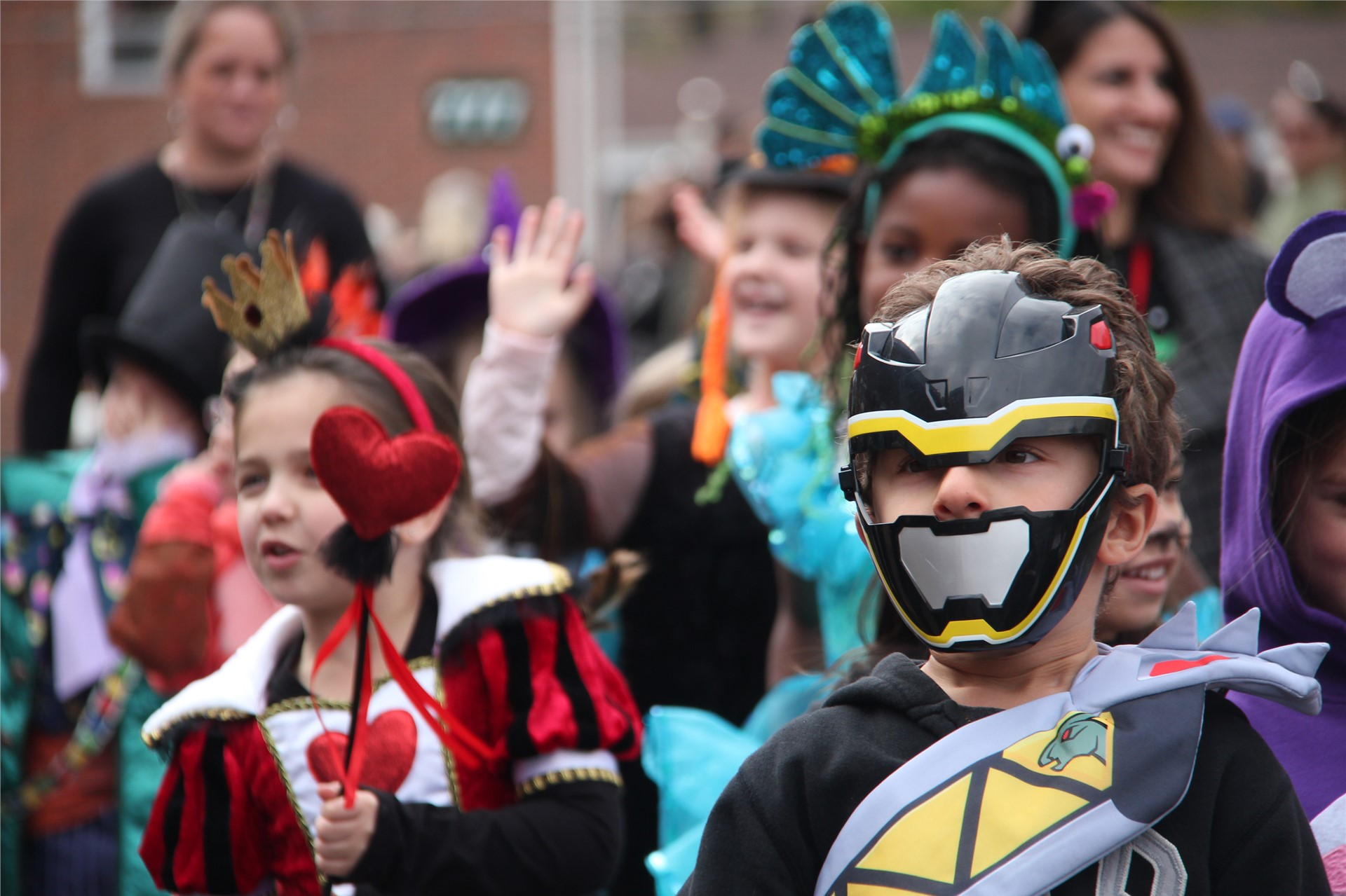 Port Dickinson Elementary Halloween Parade 47