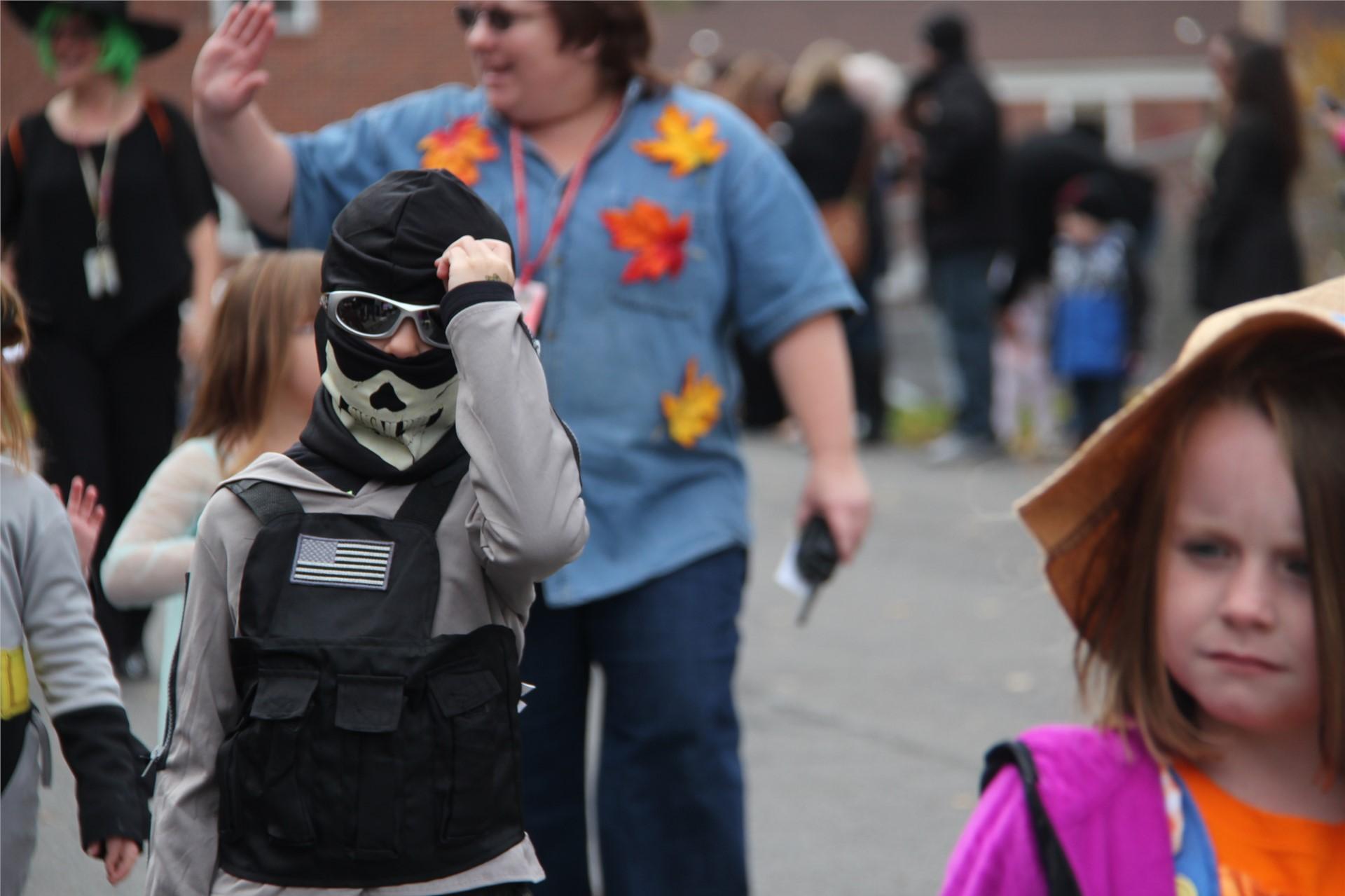 Port Dickinson Elementary Halloween Parade 39
