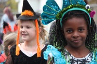 Port Dickinson Elementary Halloween Parade 49