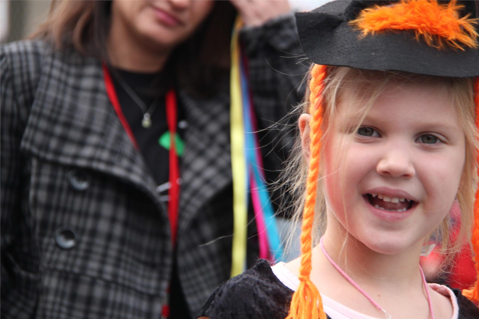 Port Dickinson Elementary Halloween Parade 50