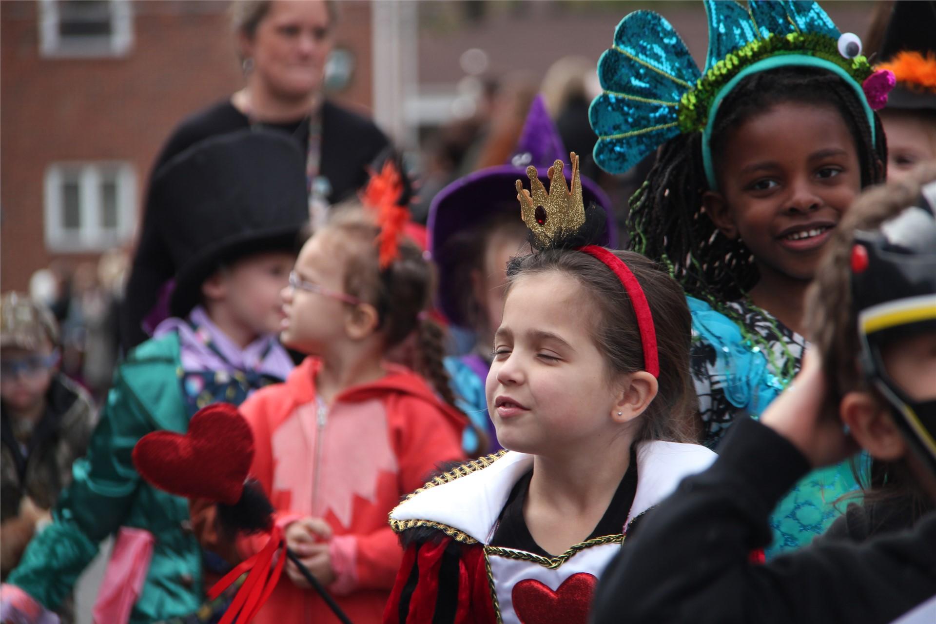Port Dickinson Elementary Halloween Parade 48