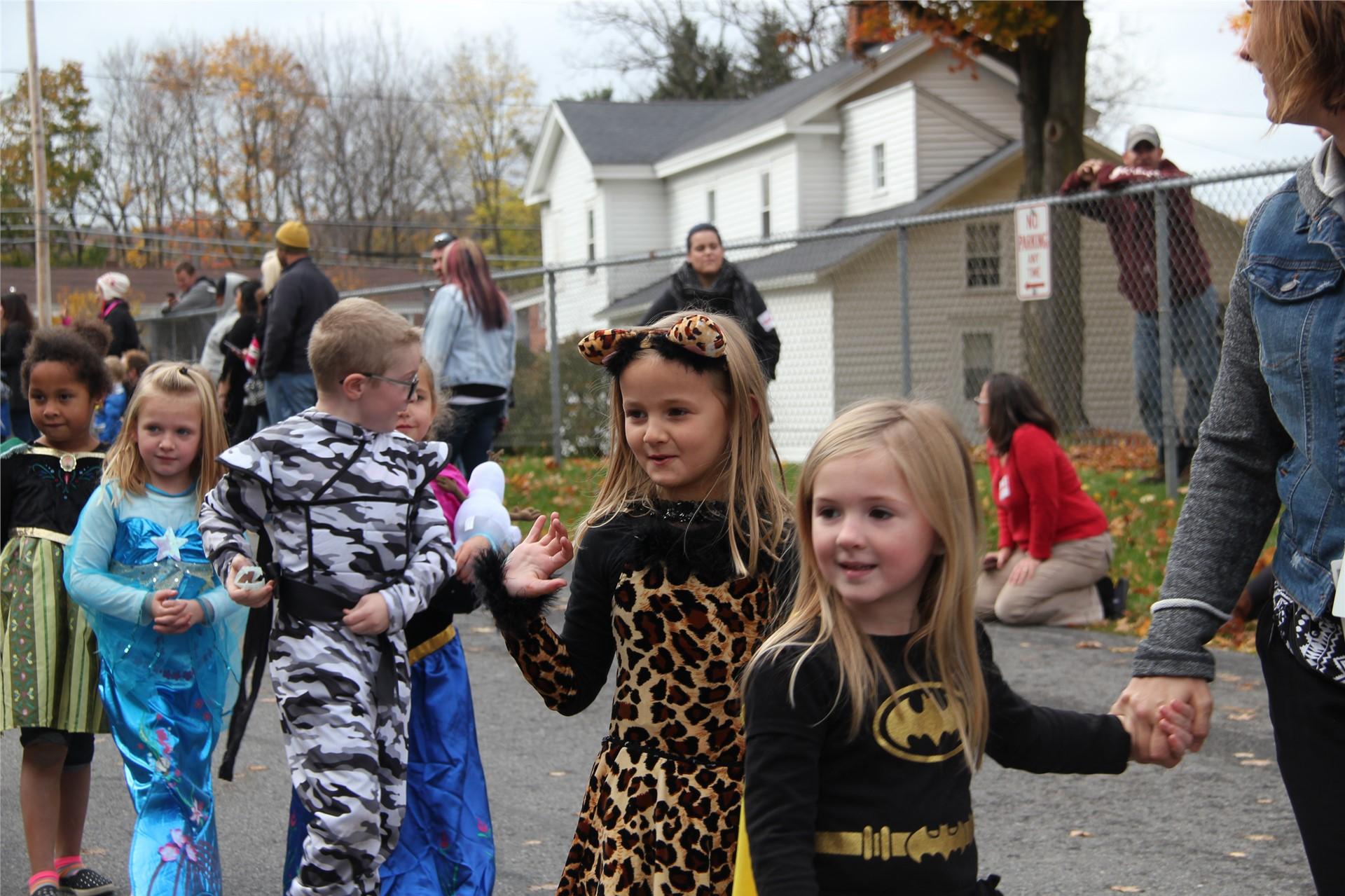Port Dickinson Elementary Halloween Parade 55