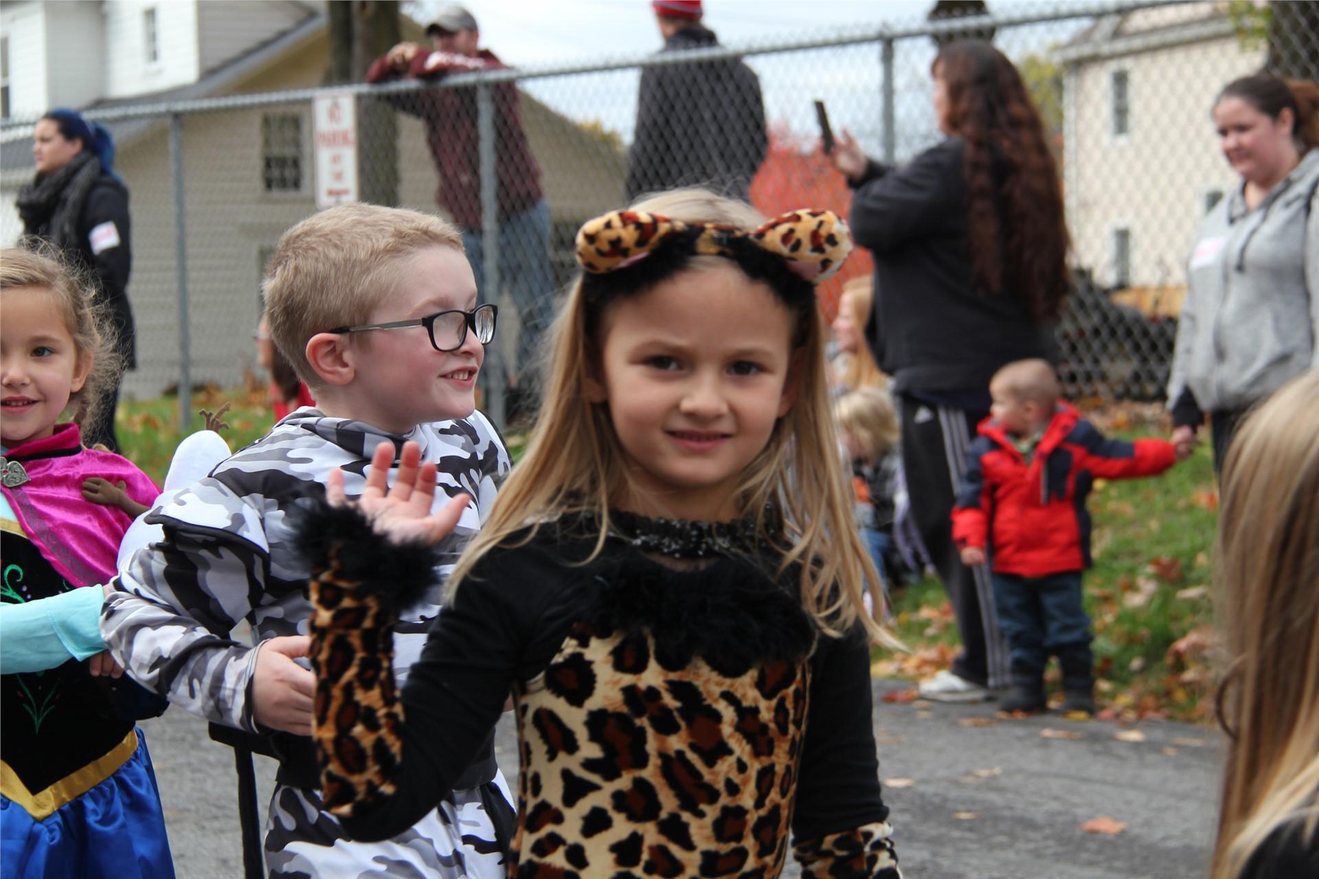 Port Dickinson Elementary Halloween Parade 56
