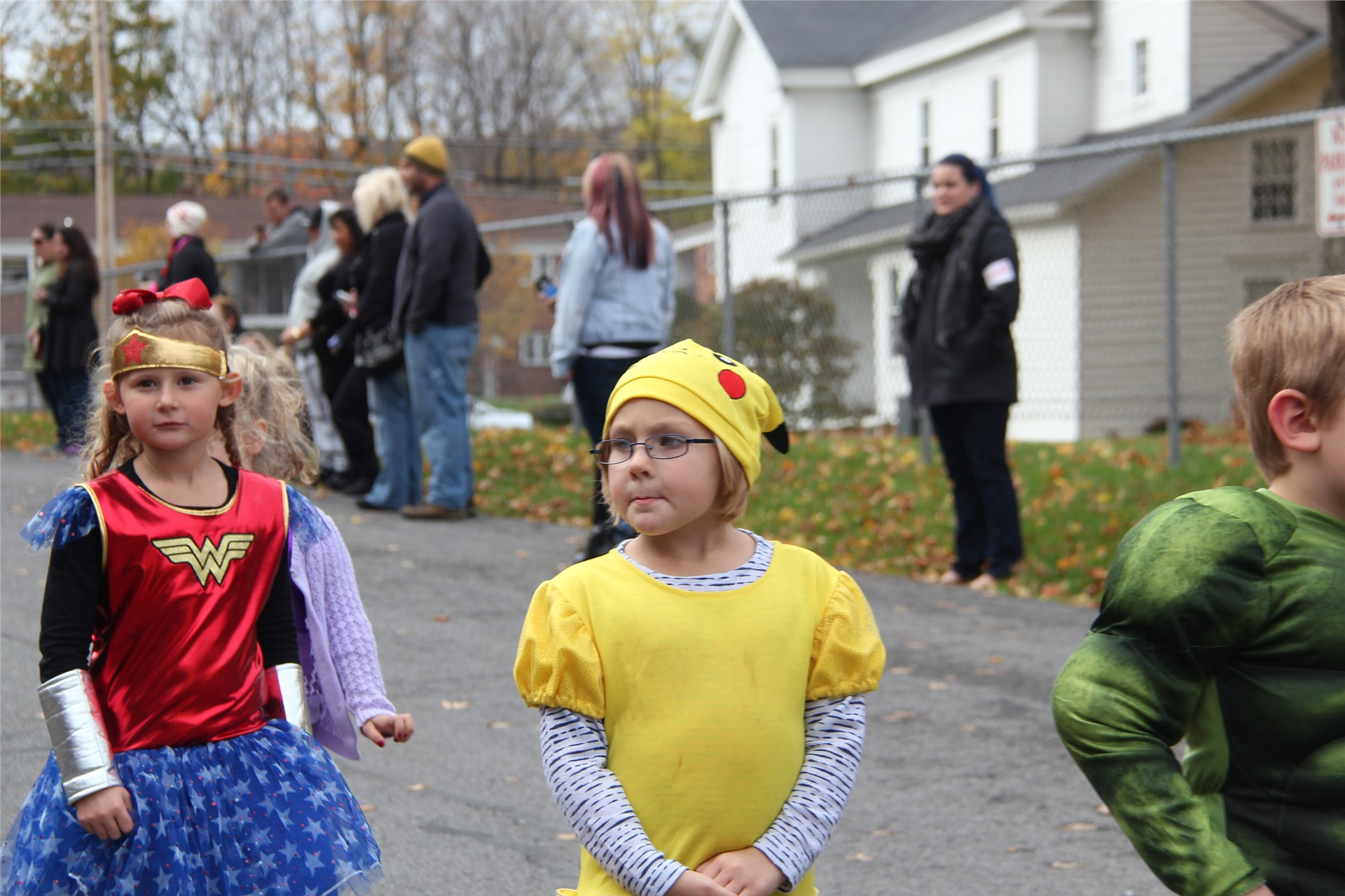 Port Dickinson Elementary Halloween Parade 59