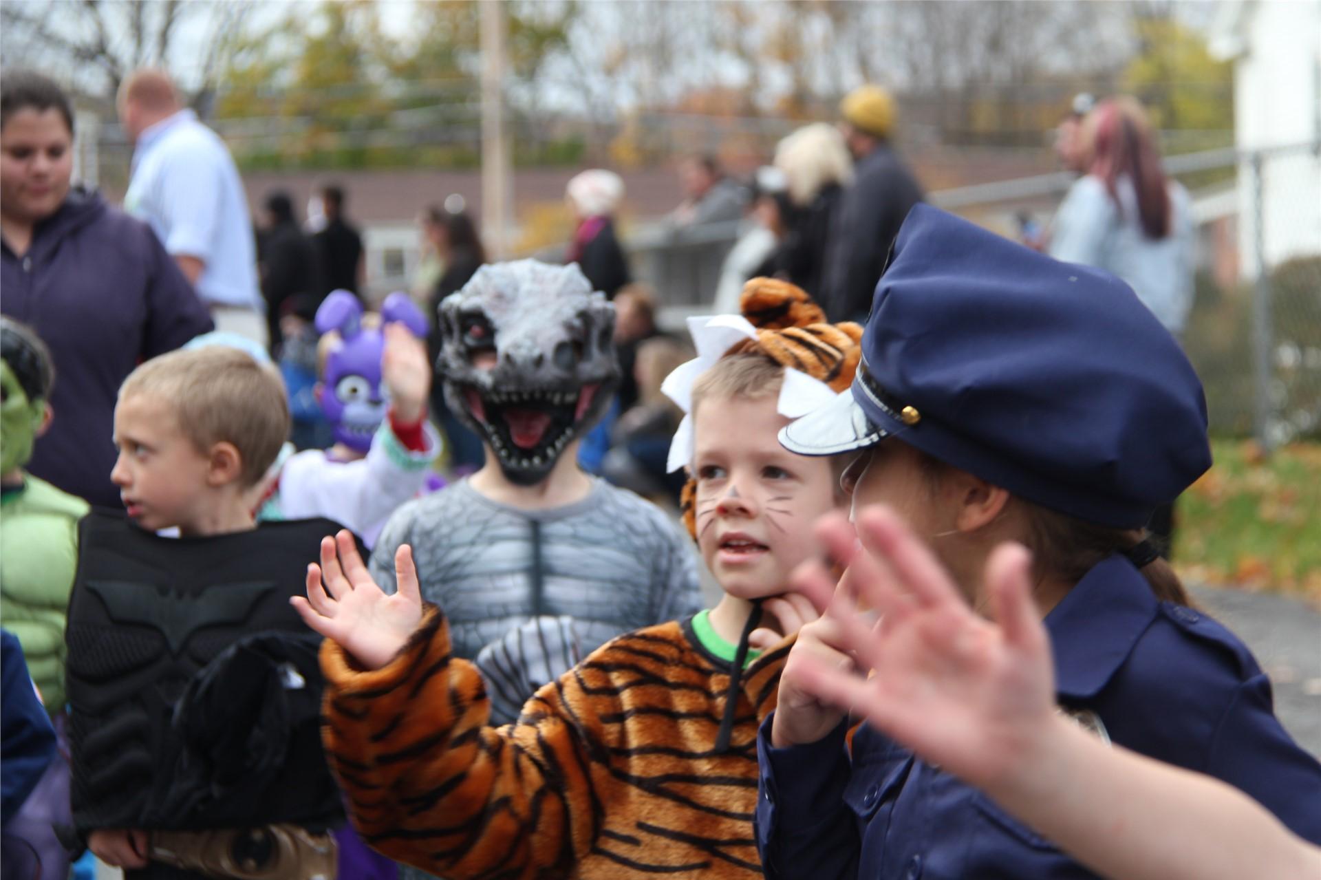 Port Dickinson Elementary Halloween Parade 62