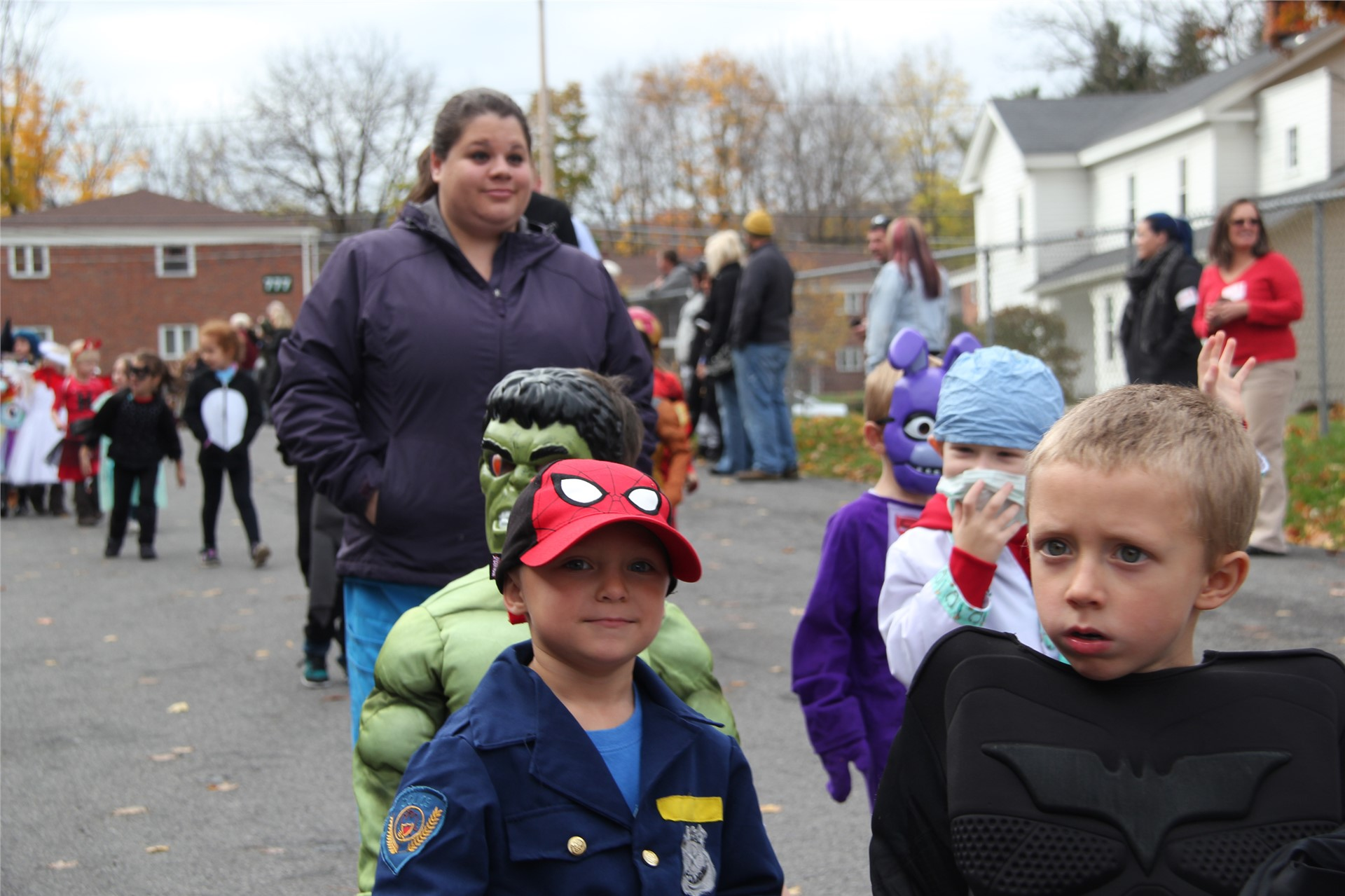 Port Dickinson Elementary Halloween Parade 64