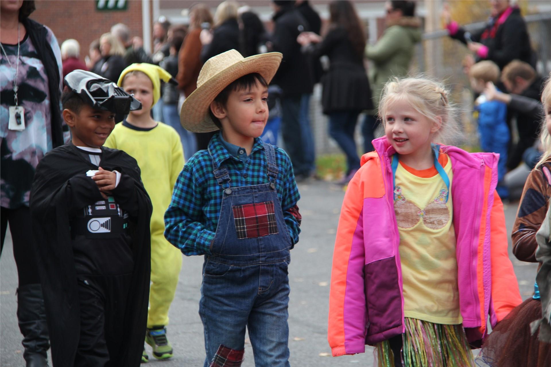 Port Dickinson Elementary Halloween Parade 70