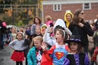 Port Dickinson Elementary Halloween Parade 75