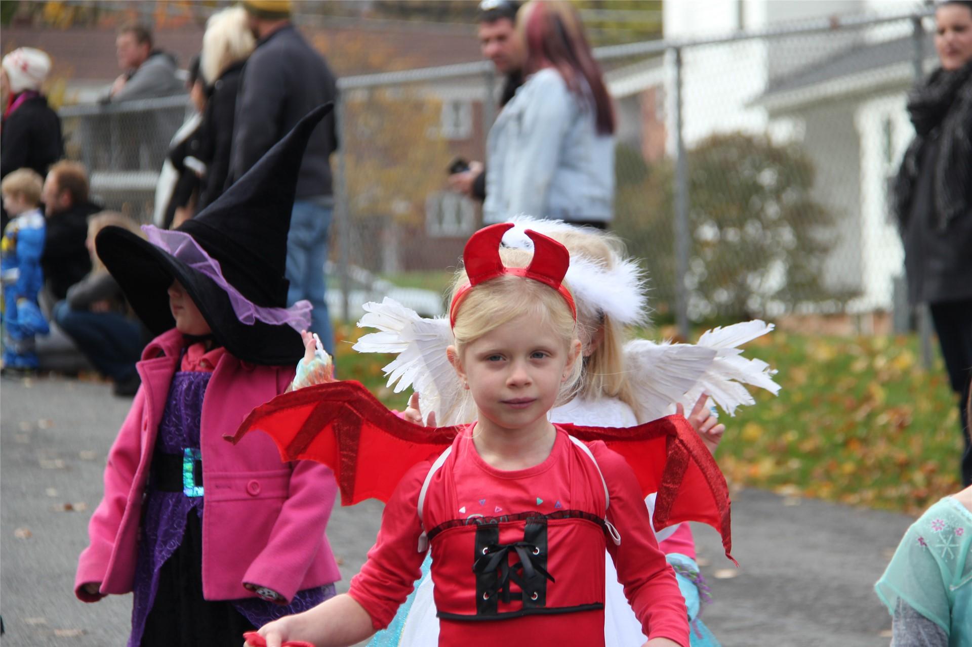 Port Dickinson Elementary Halloween Parade 68