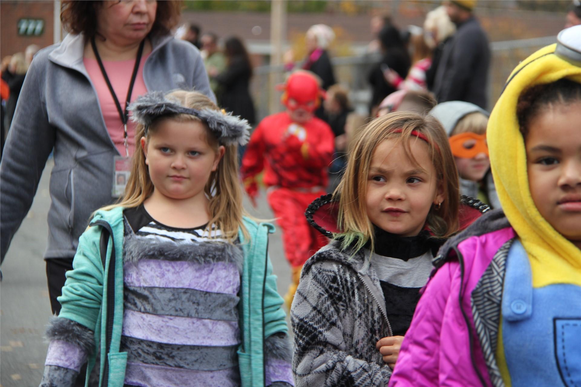 Port Dickinson Elementary Halloween Parade 78