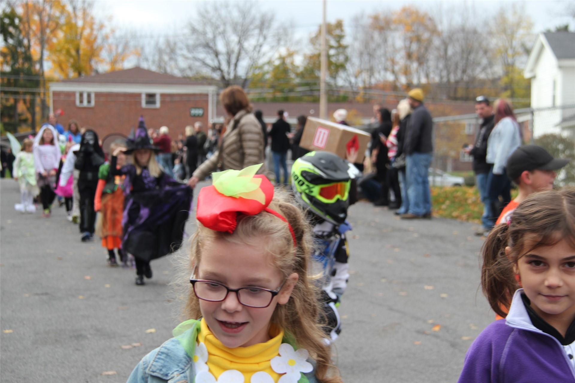 Port Dickinson Elementary Halloween Parade 81
