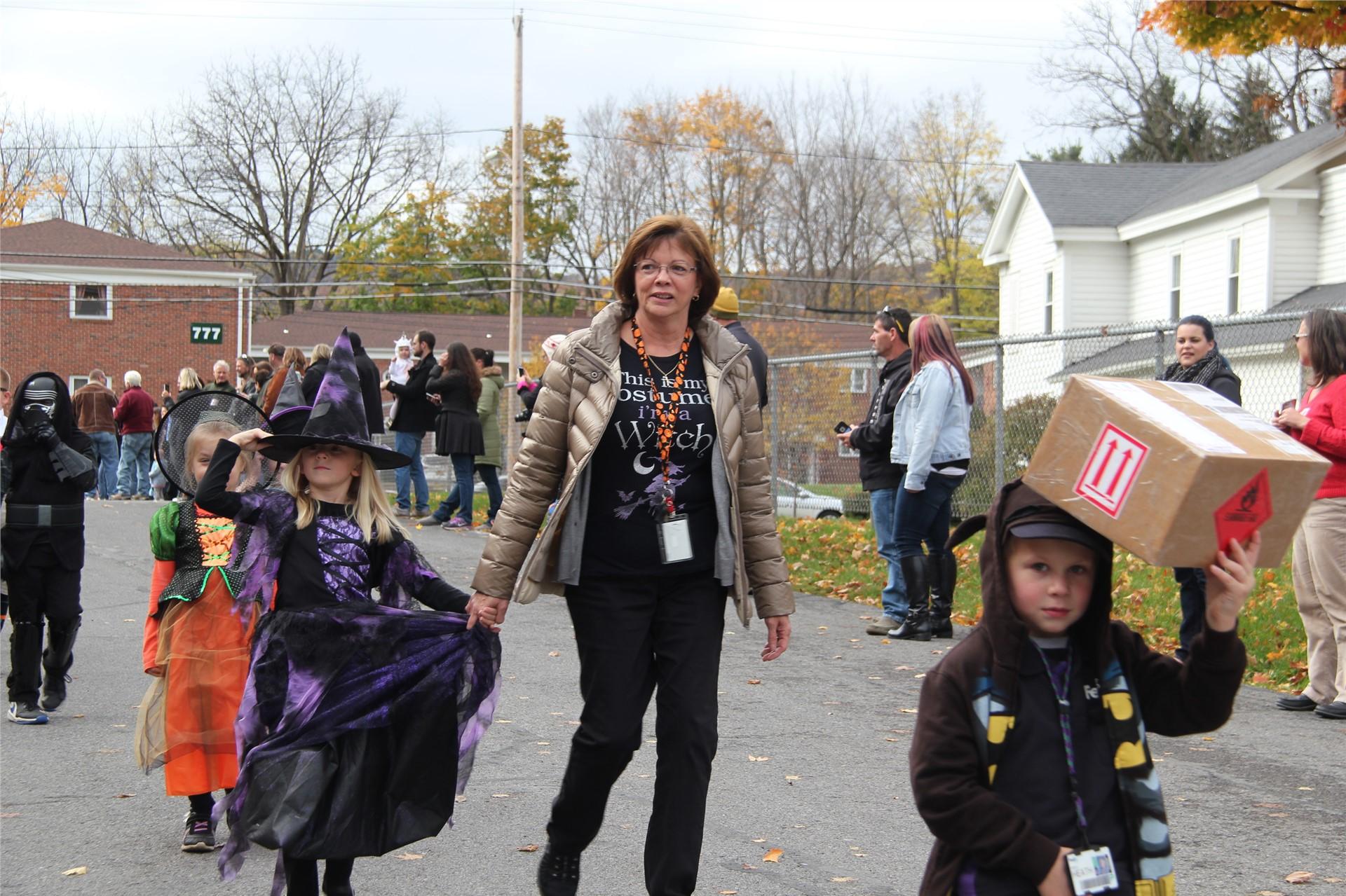 Port Dickinson Elementary Halloween Parade 82