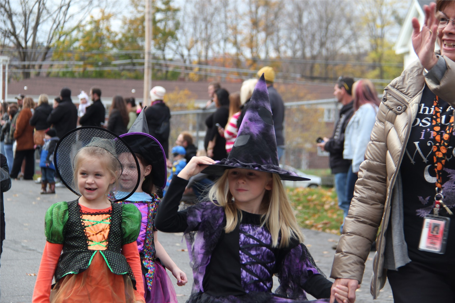 Port Dickinson Elementary Halloween Parade 83
