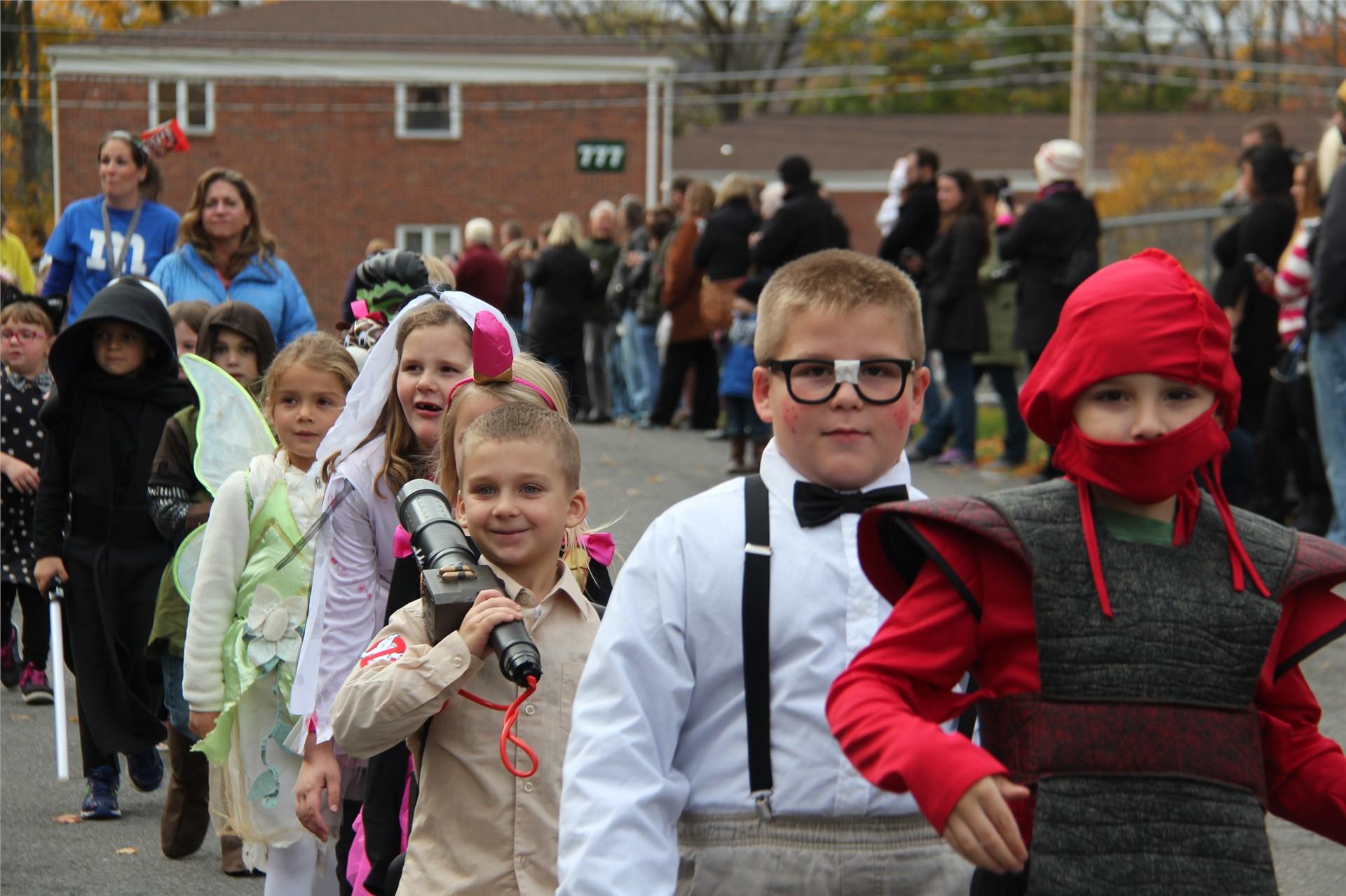 Port Dickinson Elementary Halloween Parade 84