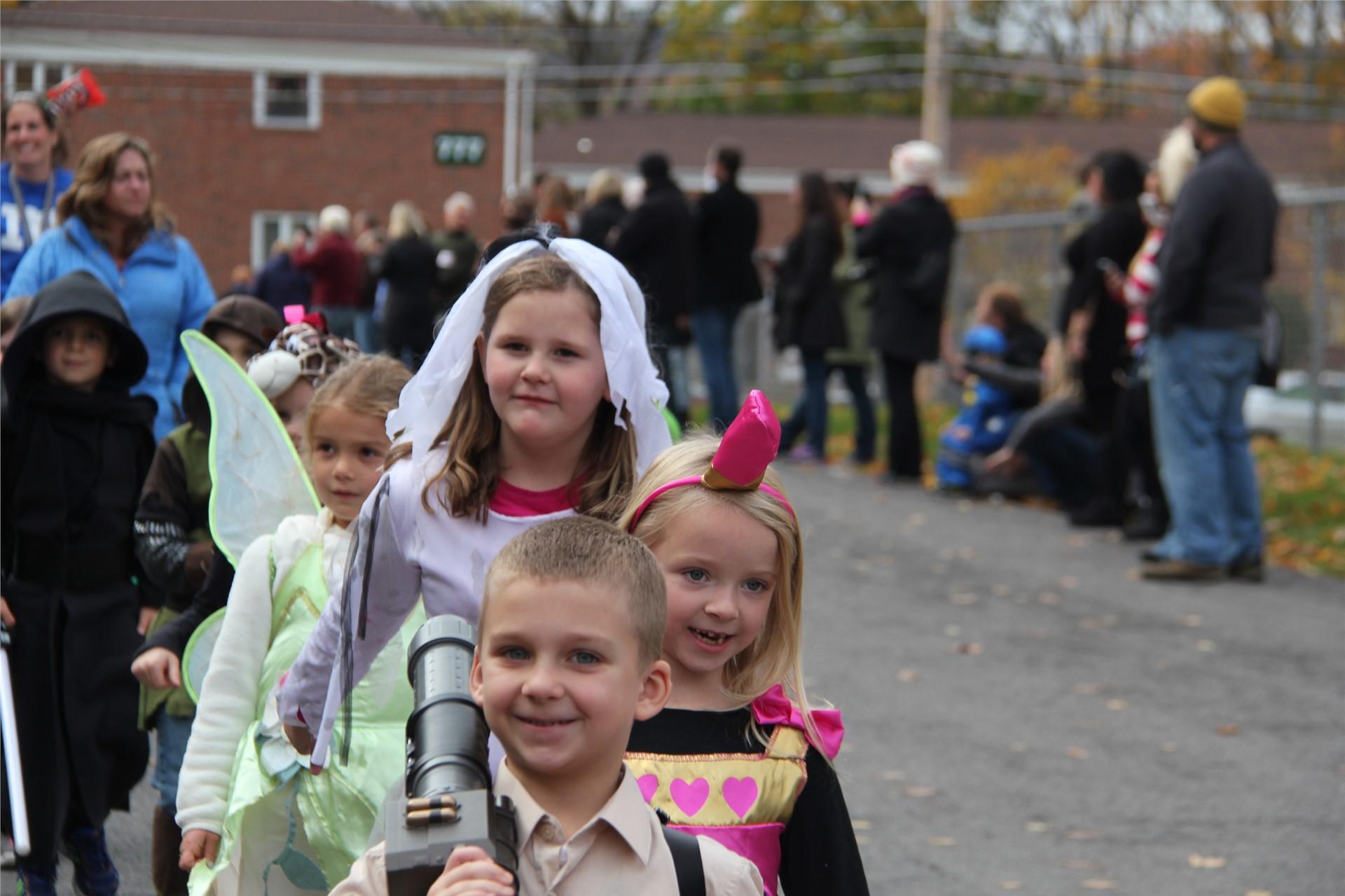 Port Dickinson Elementary Halloween Parade 85