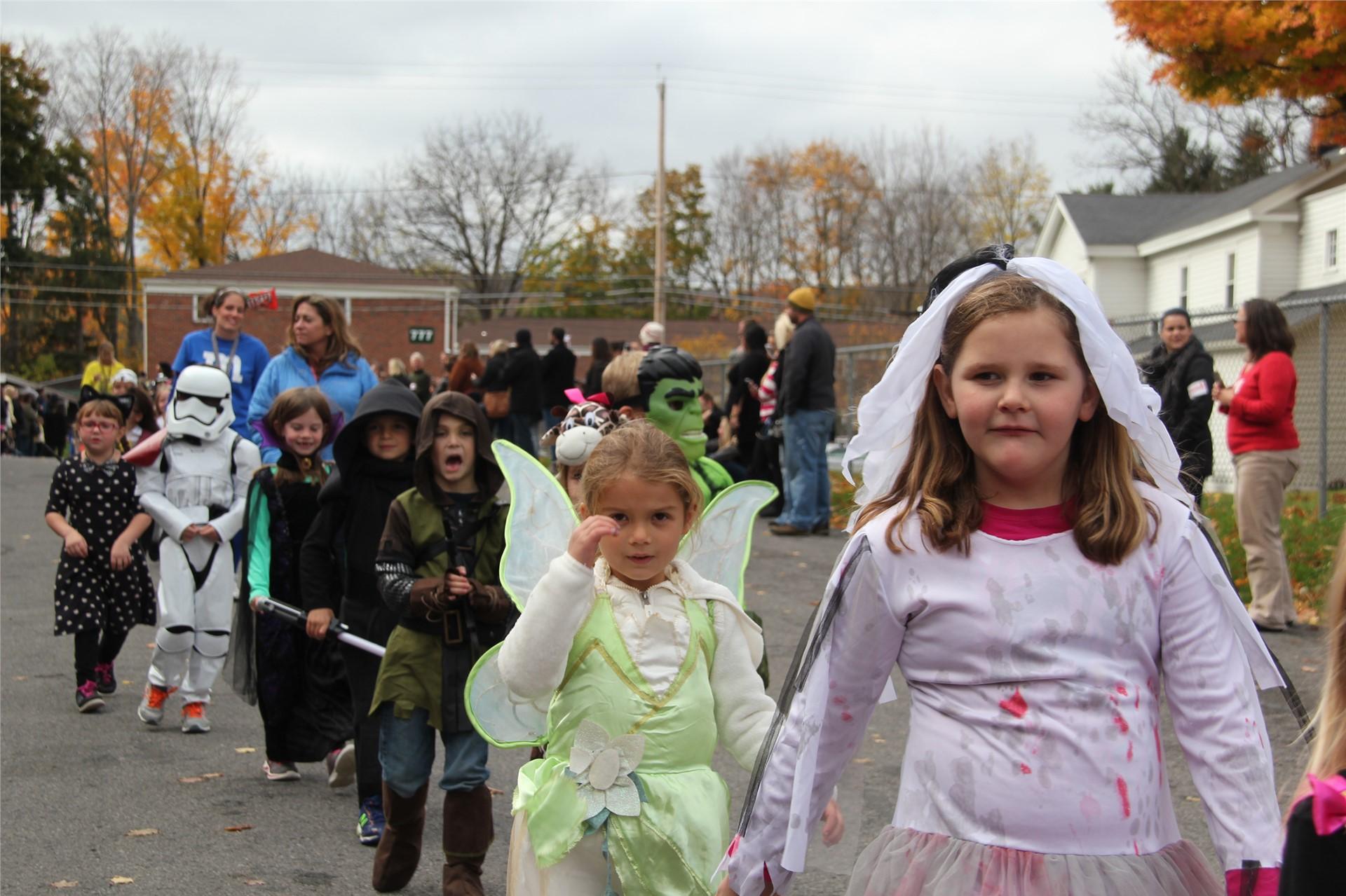 Port Dickinson Elementary Halloween Parade 86