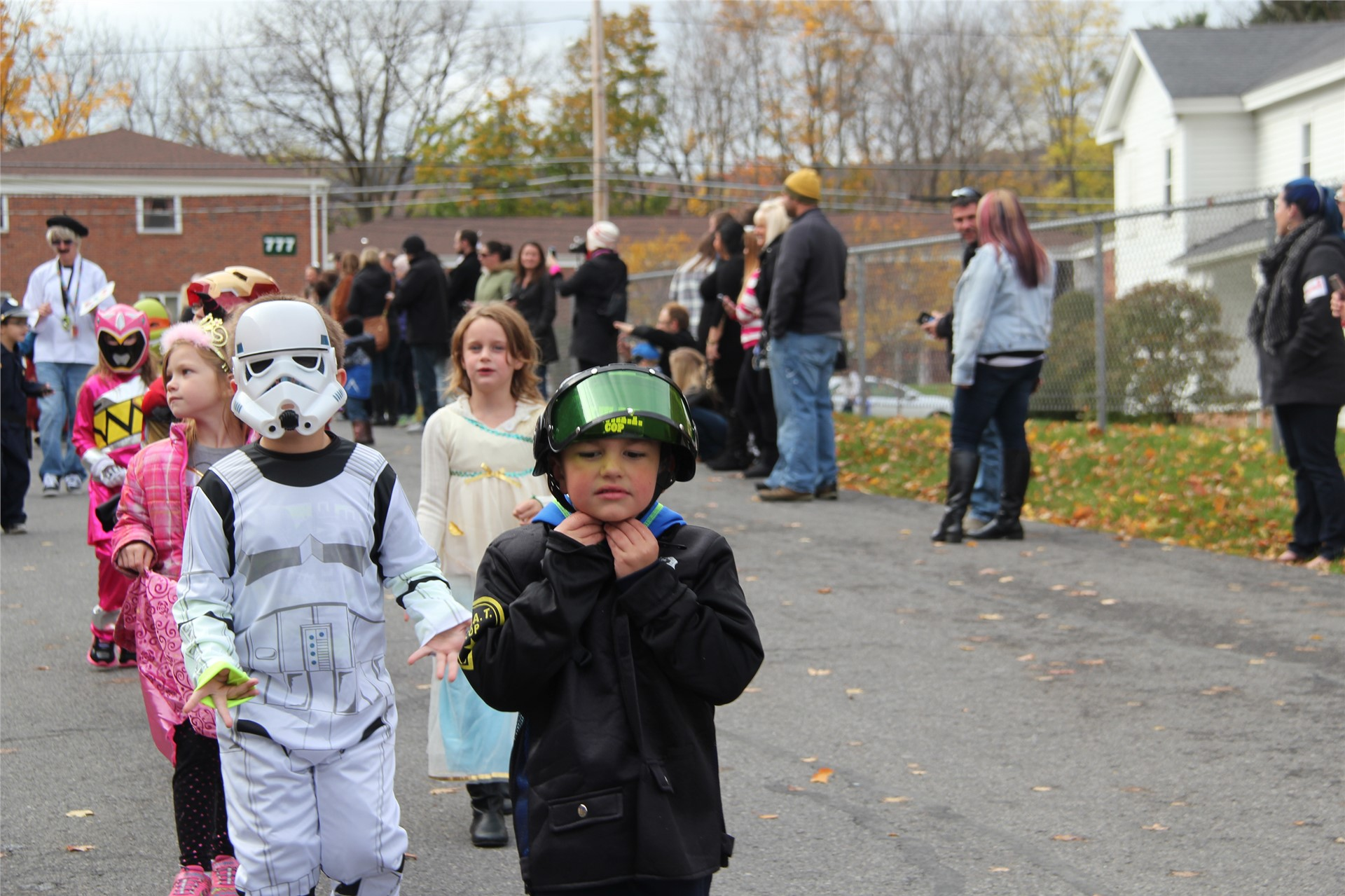 Port Dickinson Elementary Halloween Parade 91