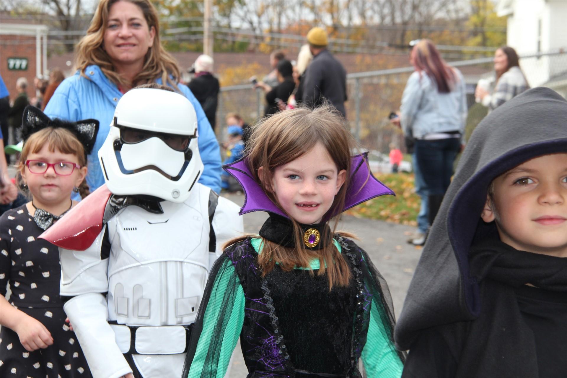 Port Dickinson Elementary Halloween Parade 88