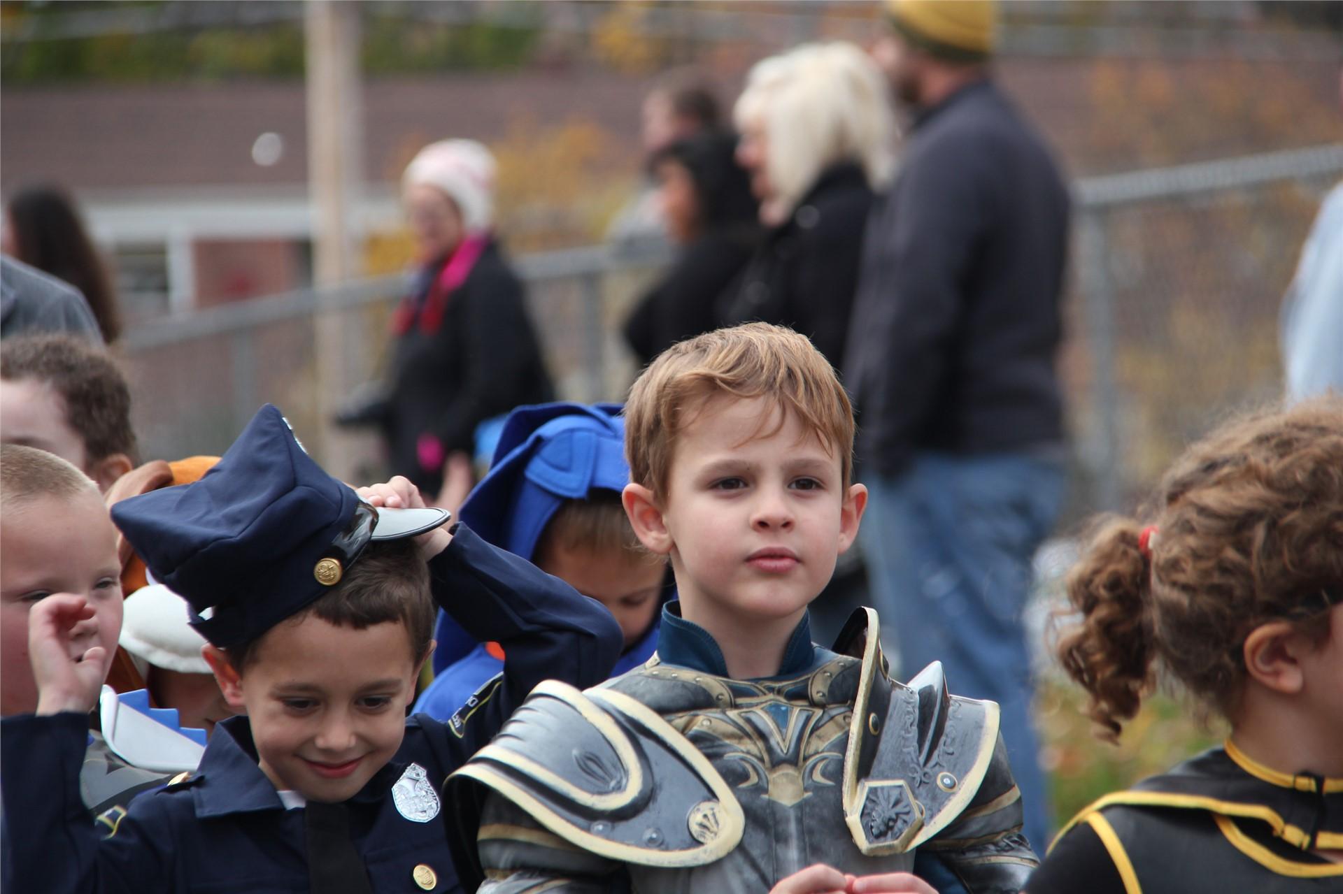 Port Dickinson Elementary Halloween Parade 105