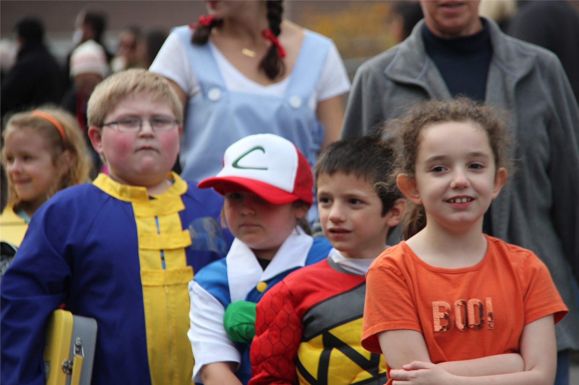 Port Dickinson Elementary Halloween Parade 107