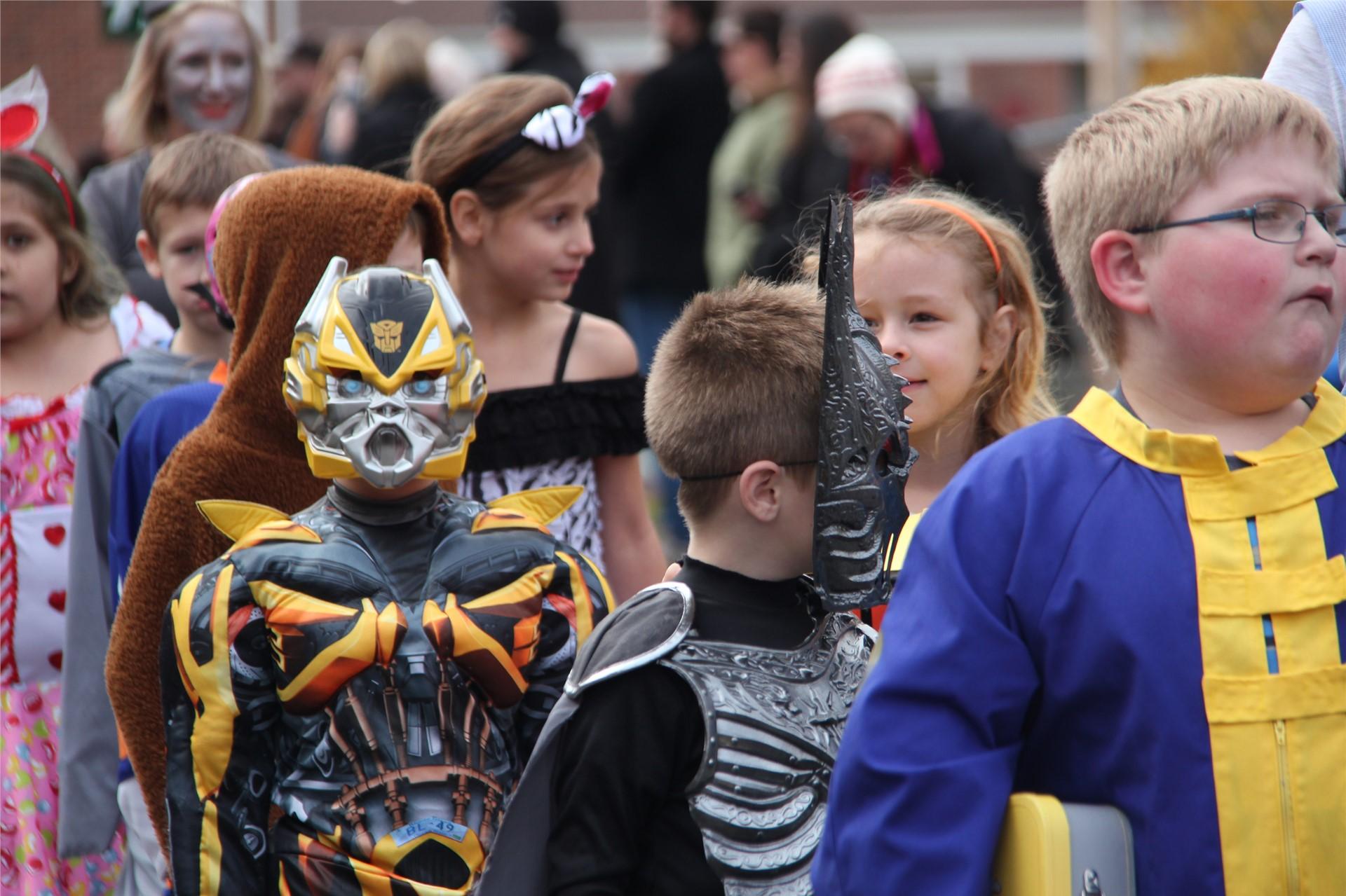 Port Dickinson Elementary Halloween Parade 108