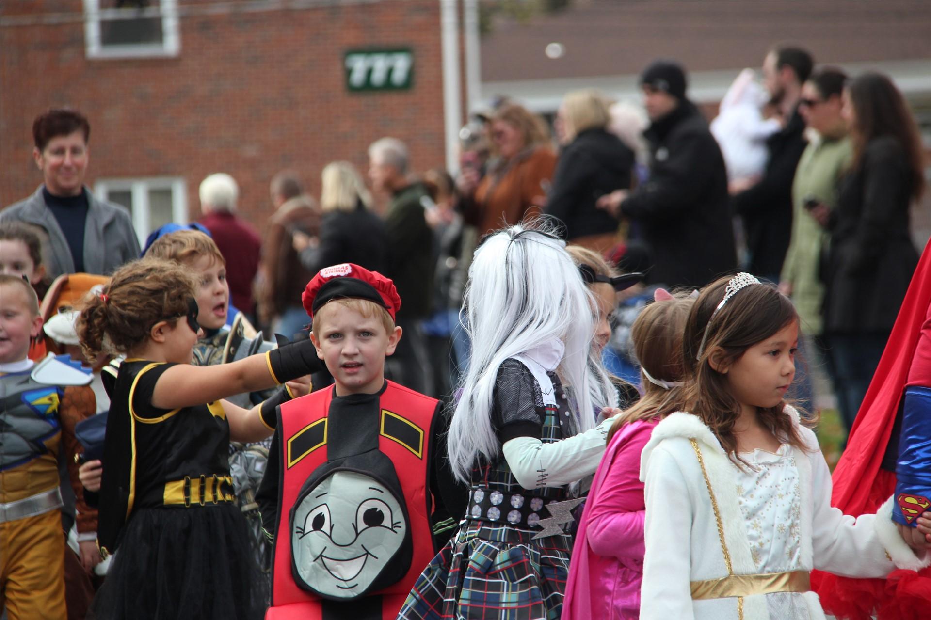 Port Dickinson Elementary Halloween Parade 103