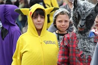 Port Dickinson Elementary Halloween Parade 110