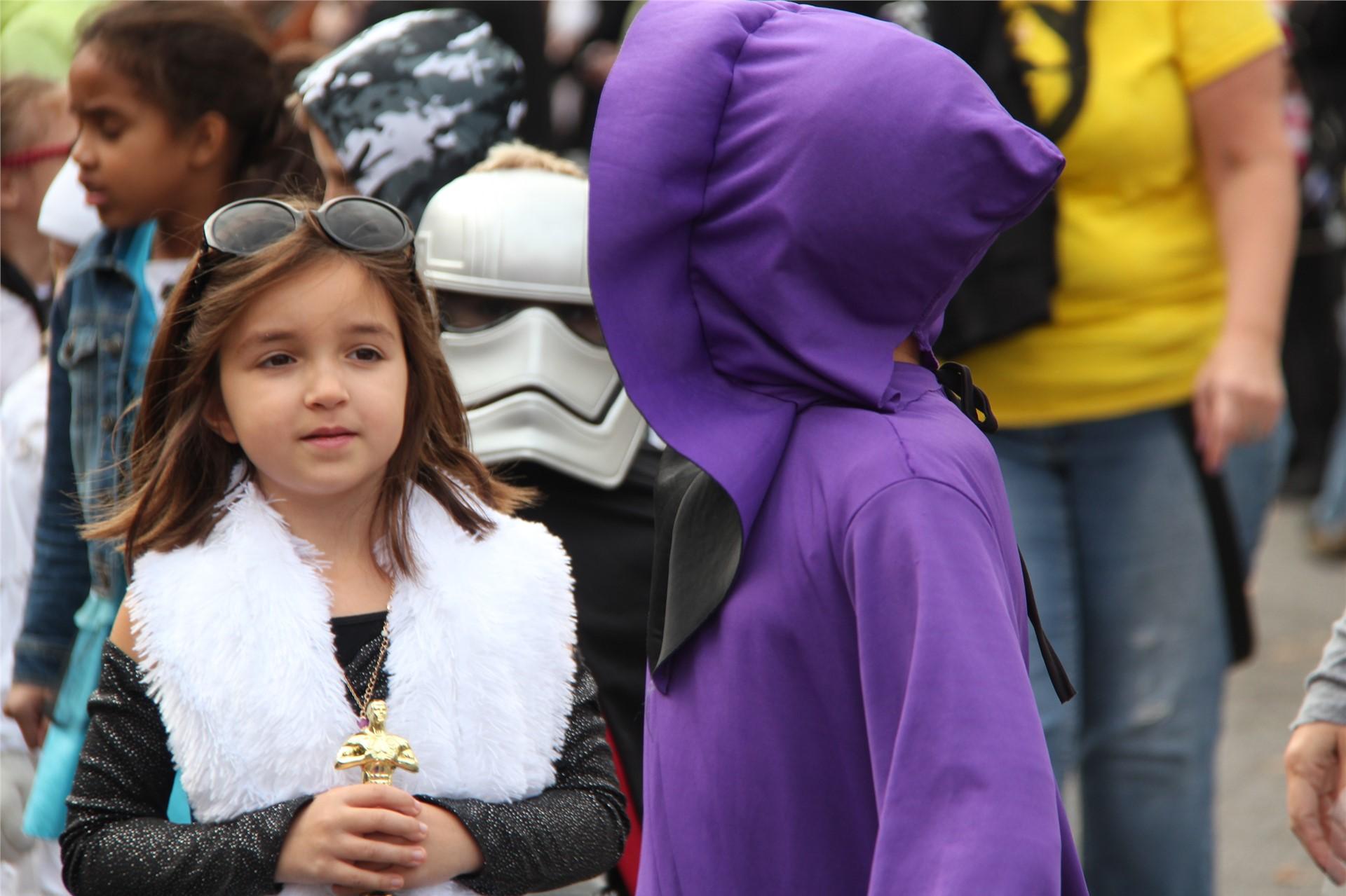 Port Dickinson Elementary Halloween Parade 111