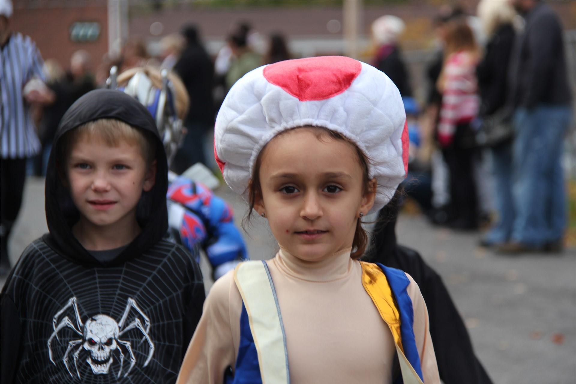 Port Dickinson Elementary Halloween Parade 117