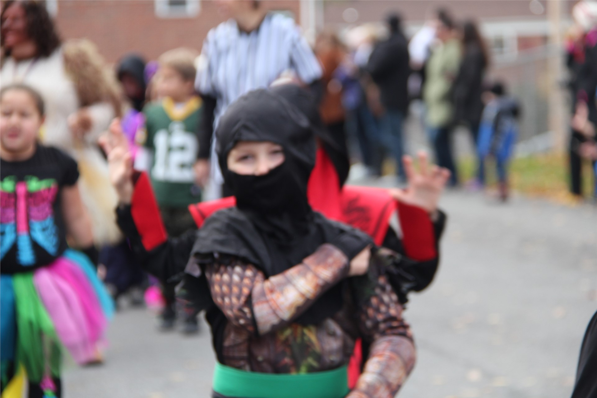 Port Dickinson Elementary Halloween Parade 118
