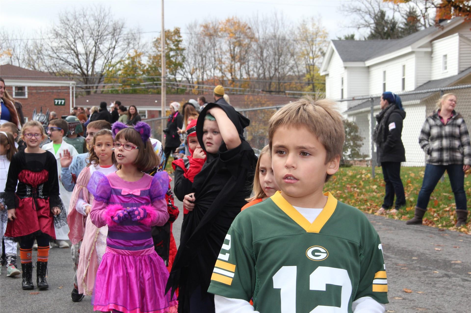 Port Dickinson Elementary Halloween Parade 122