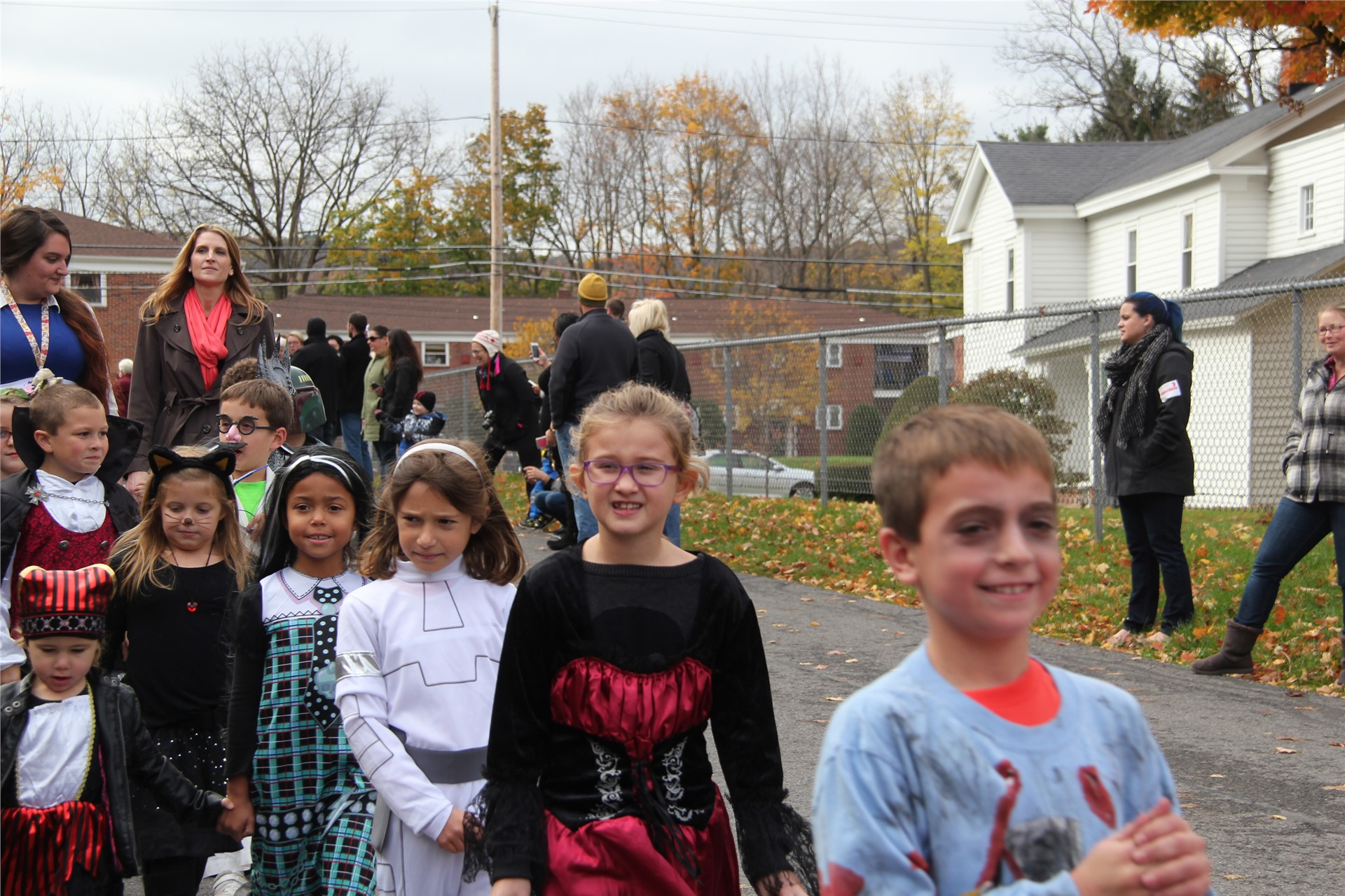 Port Dickinson Elementary Halloween Parade 125
