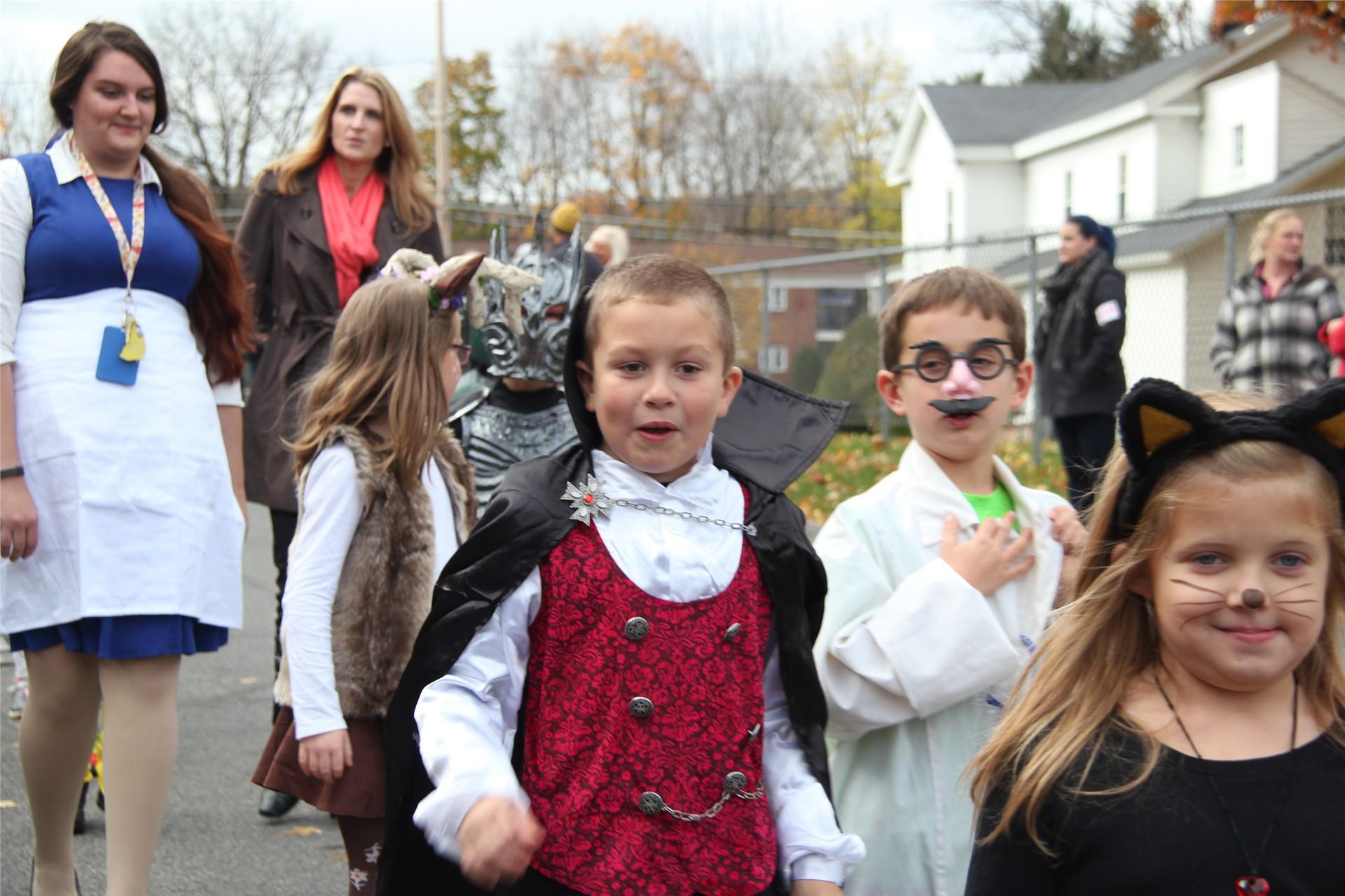Port Dickinson Elementary Halloween Parade 127