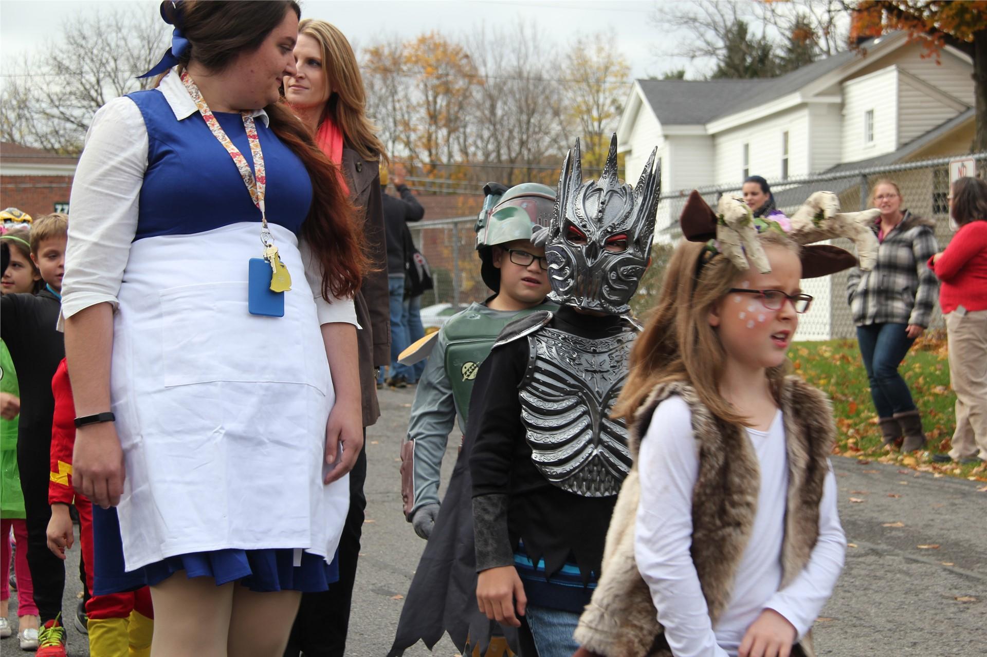 Port Dickinson Elementary Halloween Parade 128