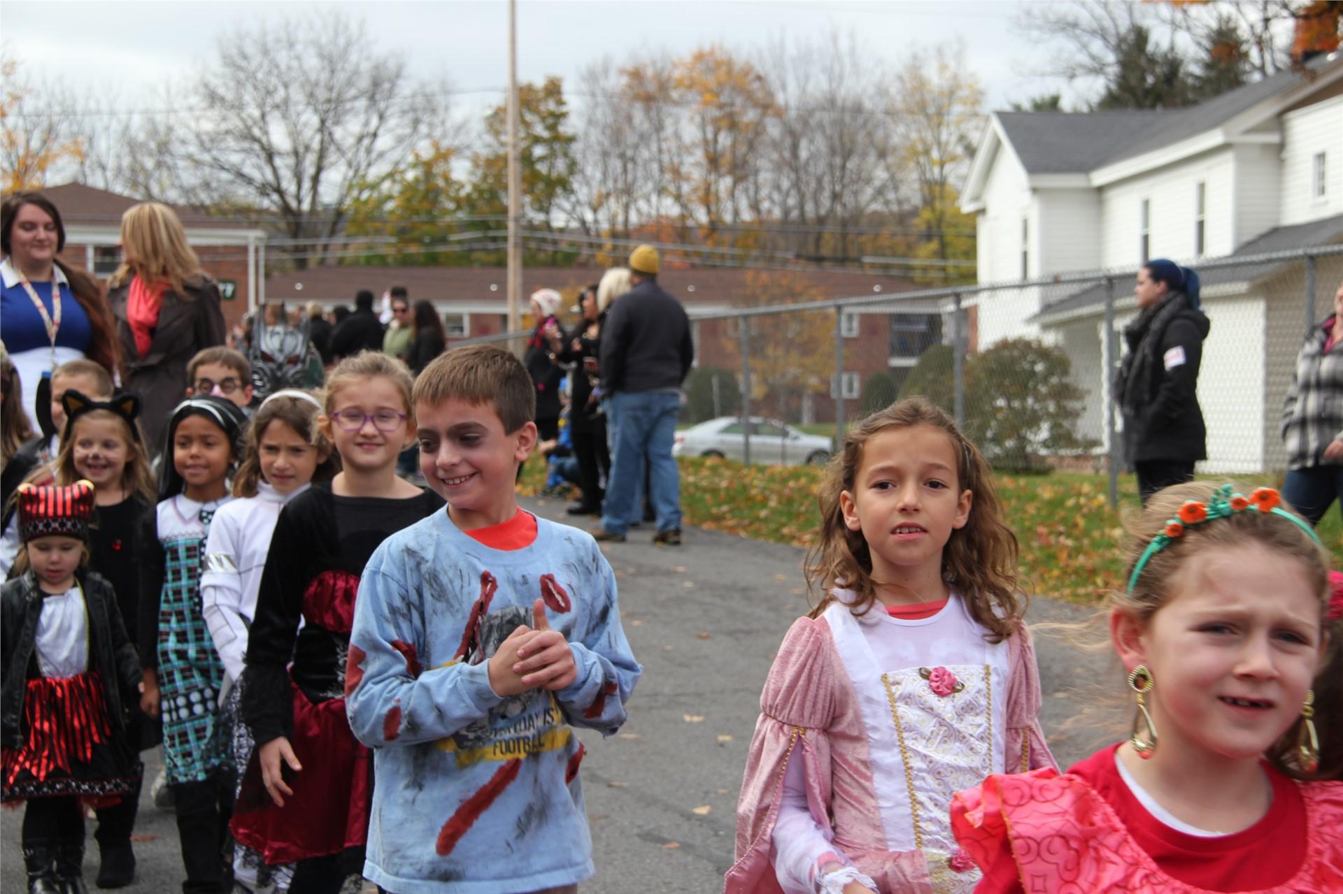 Port Dickinson Elementary Halloween Parade 124