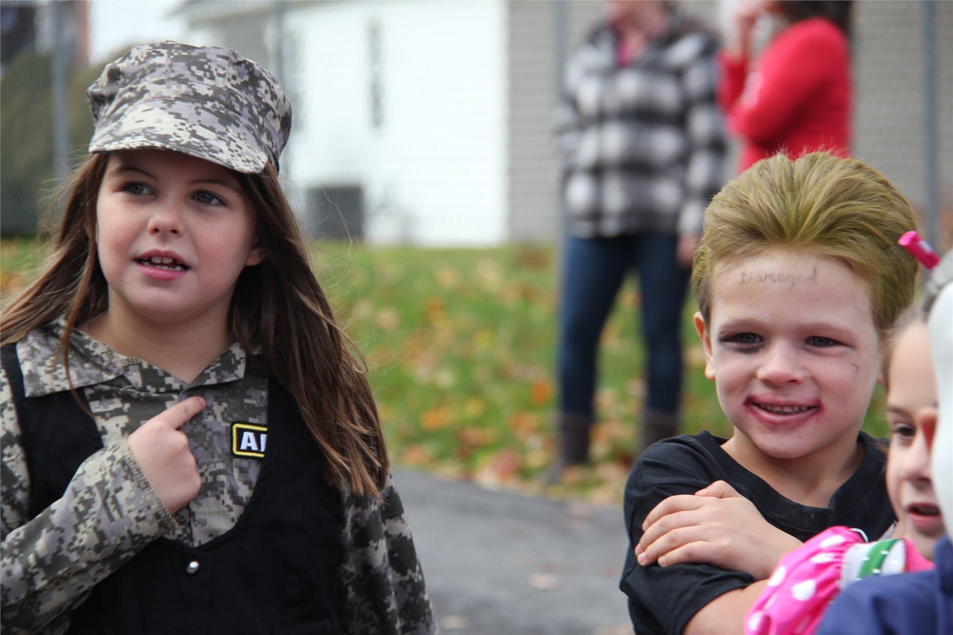 Port Dickinson Elementary Halloween Parade 134