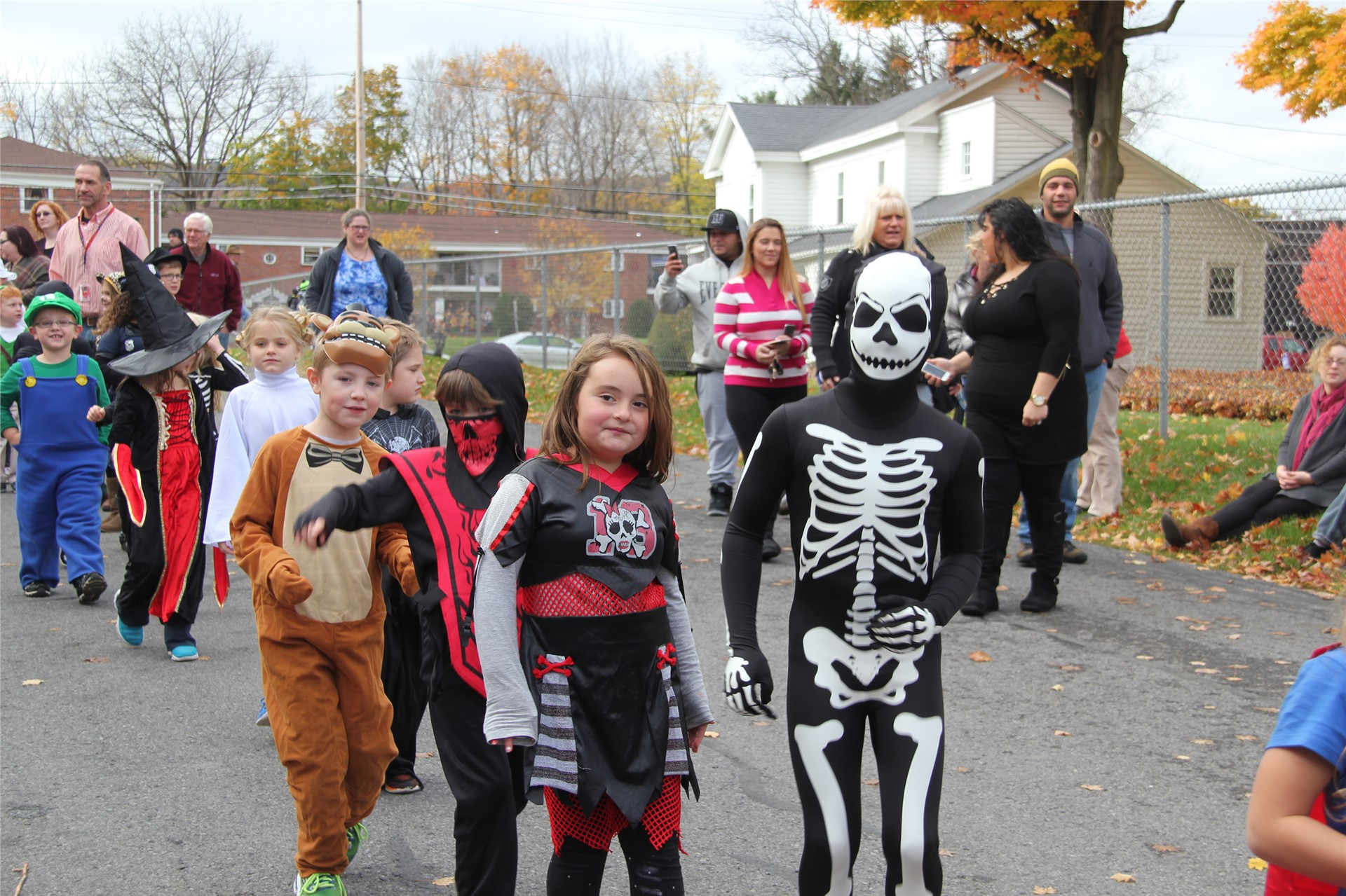 Port Dickinson Elementary Halloween Parade 142