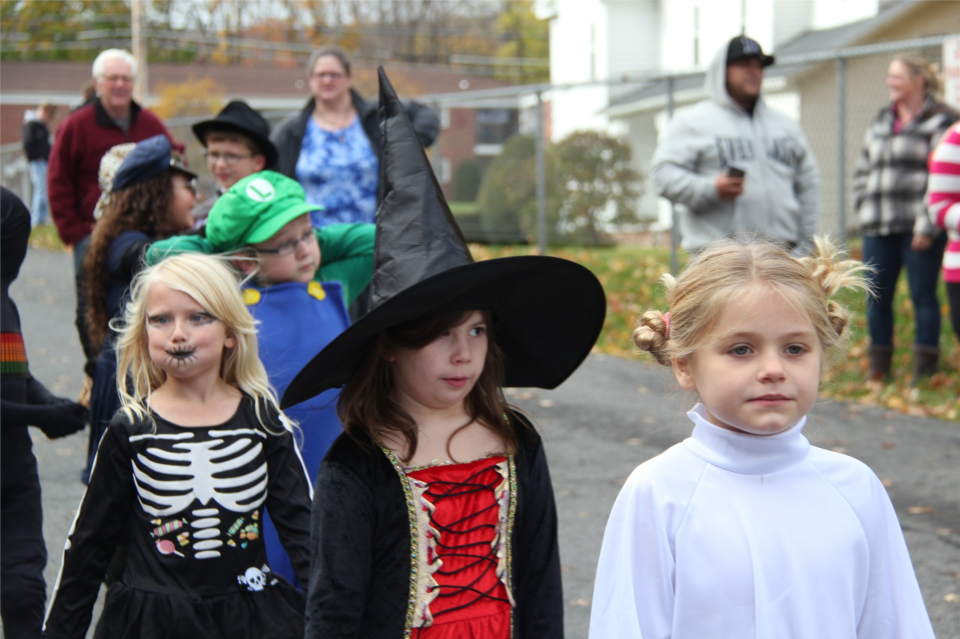 Port Dickinson Elementary Halloween Parade 144