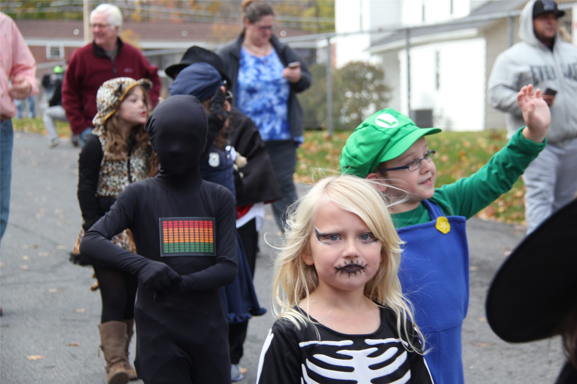 Port Dickinson Elementary Halloween Parade 145